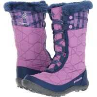 Bocanci Minx™ Mid II Waterproof Omni-Heat™ Print Boot (Little Kid/Big Kid) Sporturi