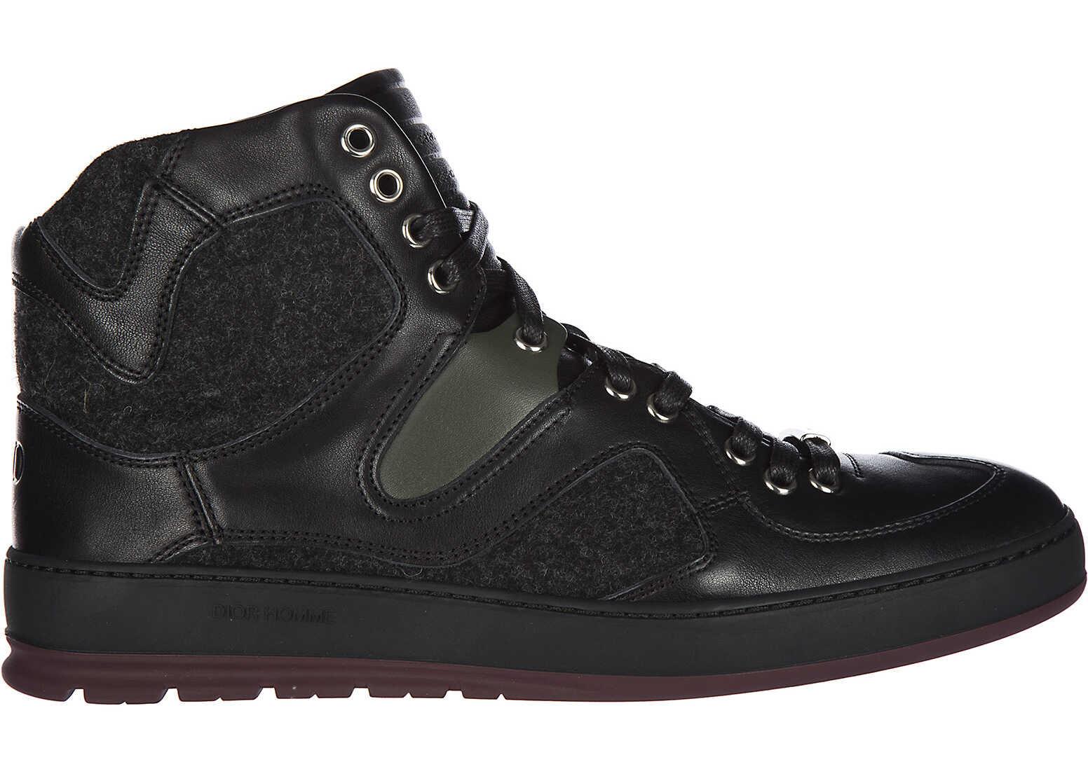 Dior High Top Sneakers B19 Black