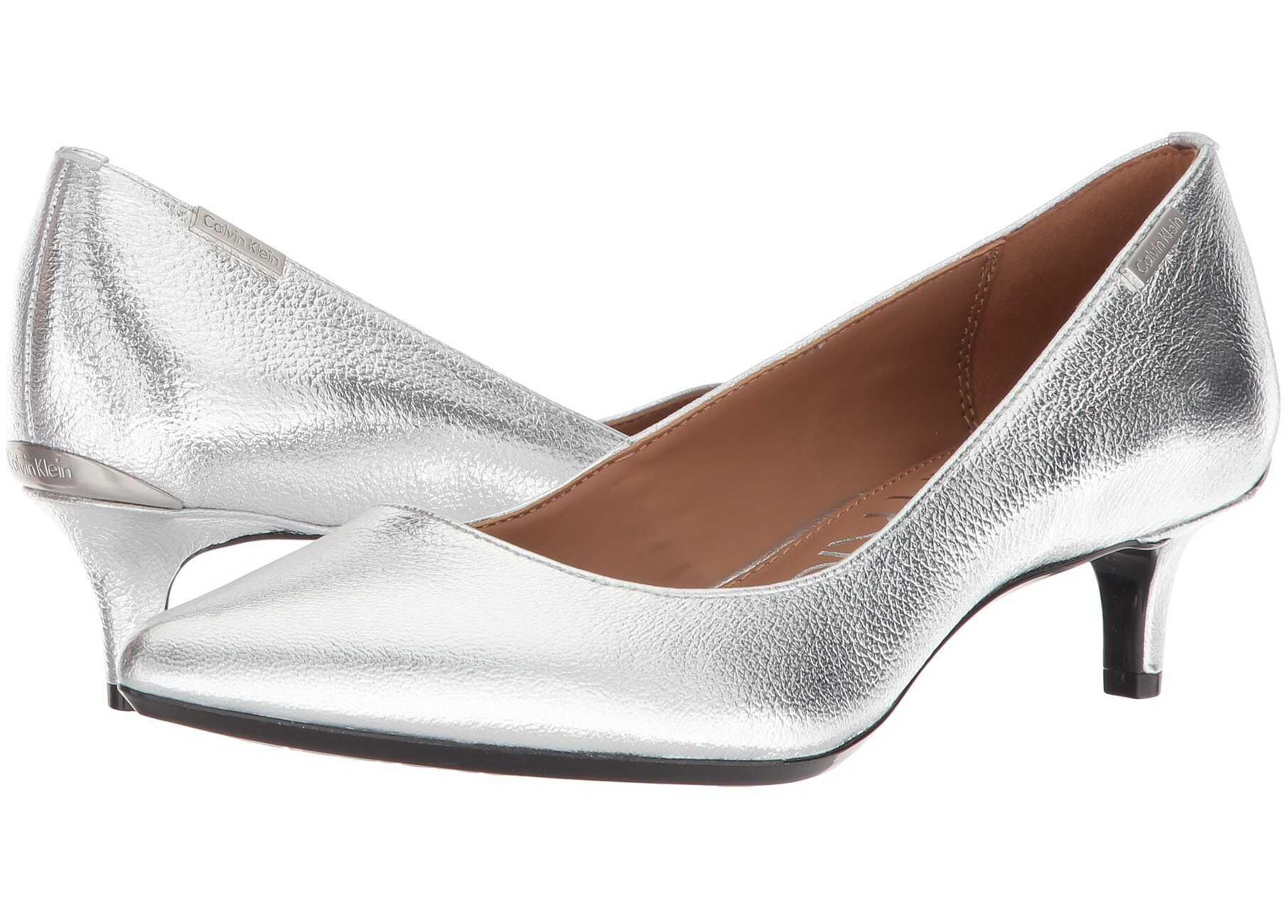 Calvin Klein Gabrianna Pump Silver 1
