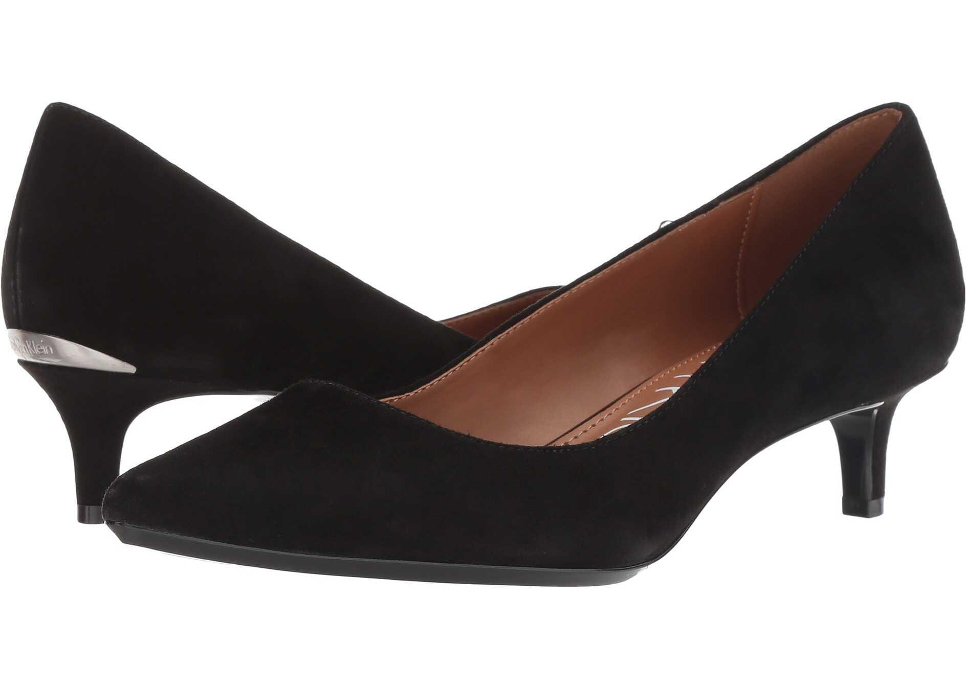 Calvin Klein Gabrianna Pump Black Suede/Leather