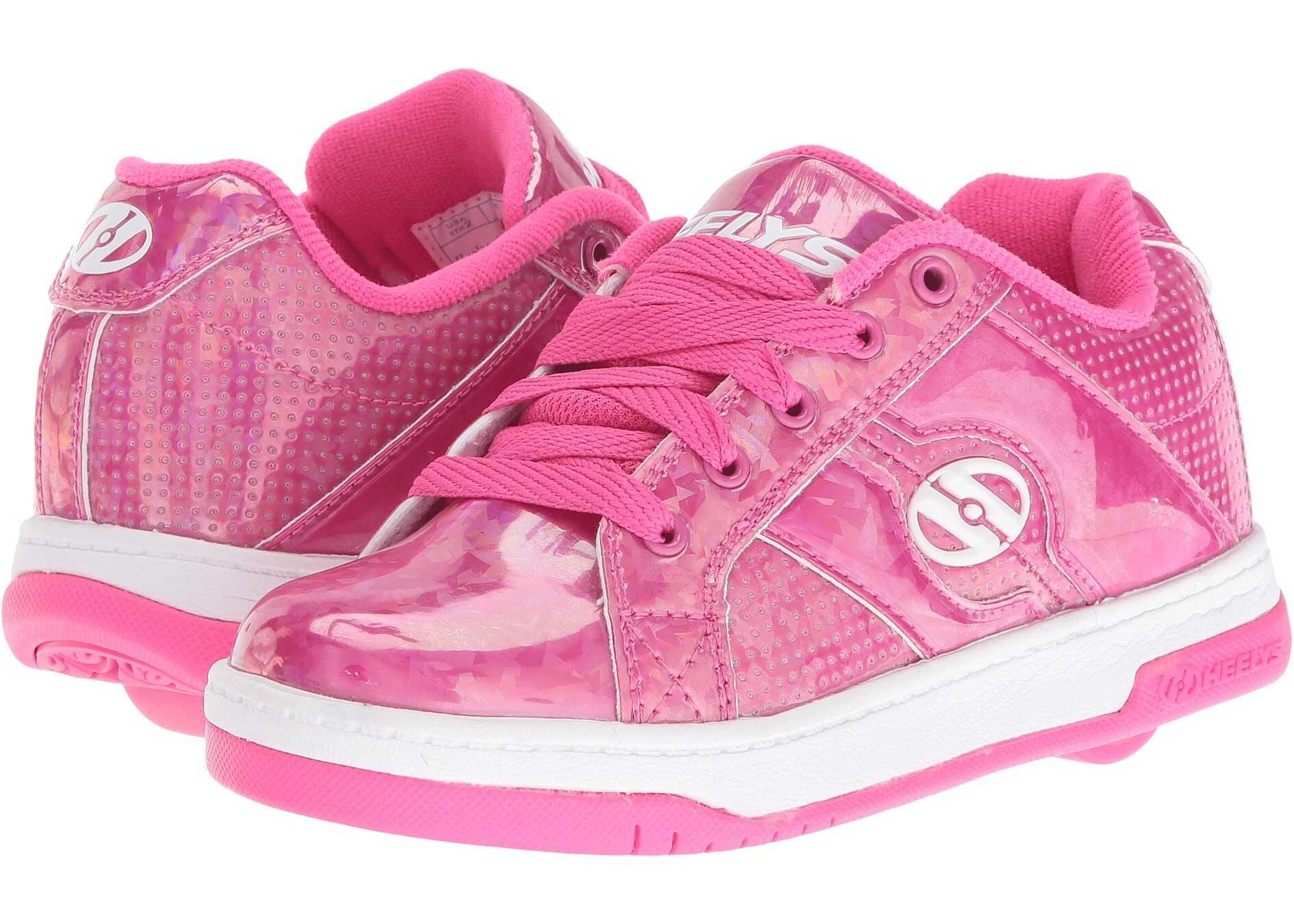 Heelys Split (Little Kid/Big Kid/Adult) Pink/Hologram