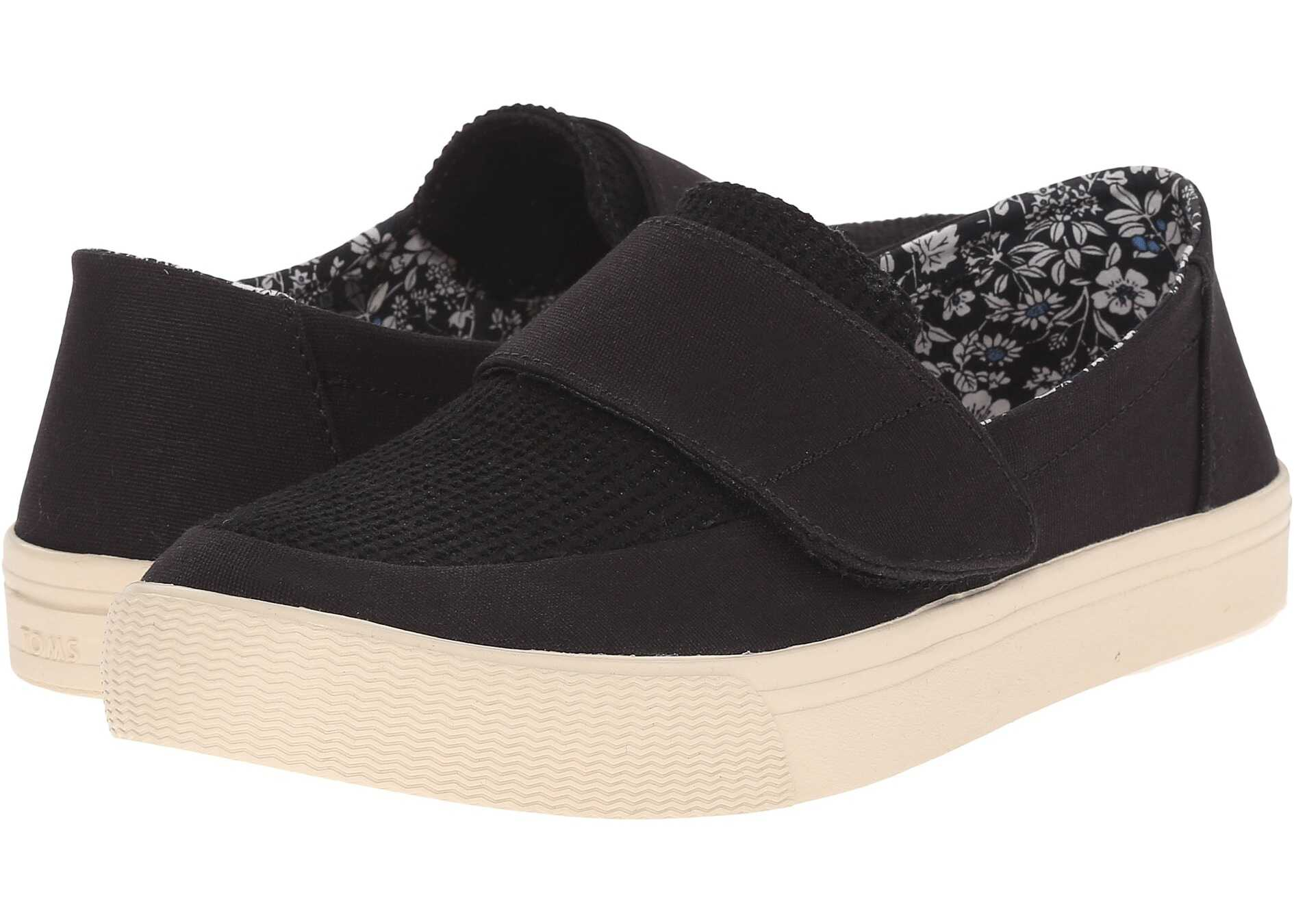 TOMS Altair Slip-On Black Canvas