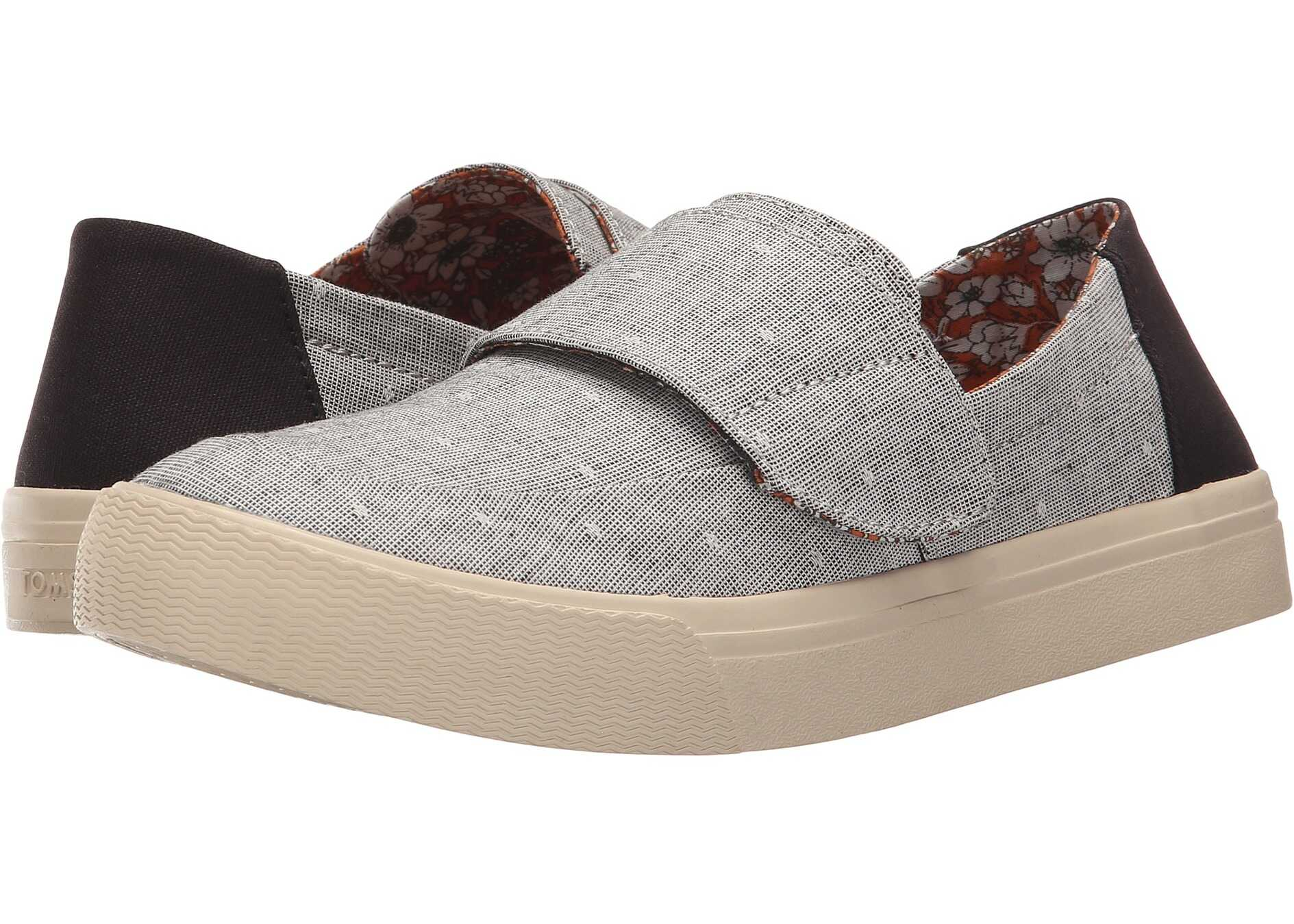 TOMS Altair Slip-On Grey Chambray Dot