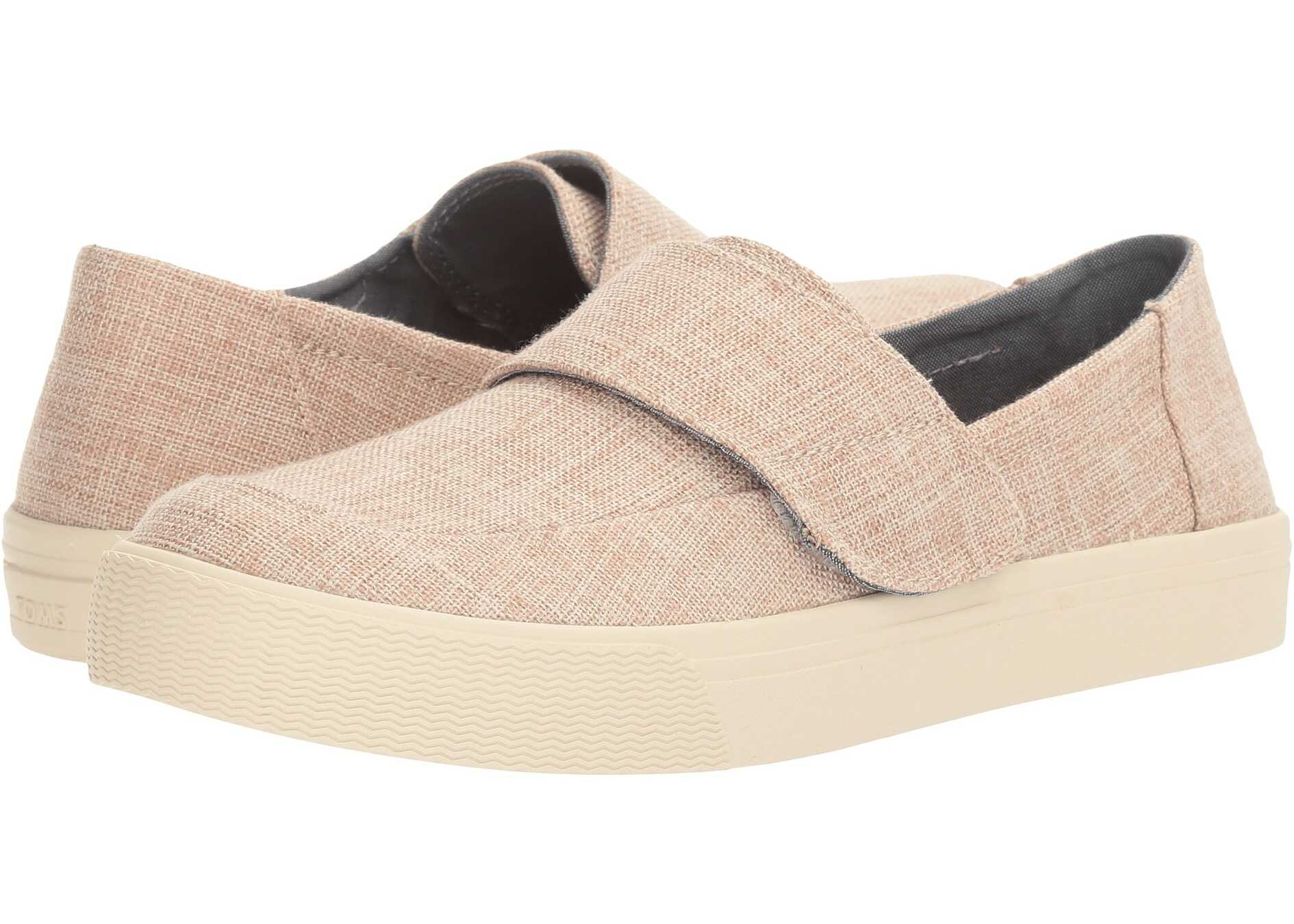 TOMS Altair Slip-On Pale Pink Lurex Woven