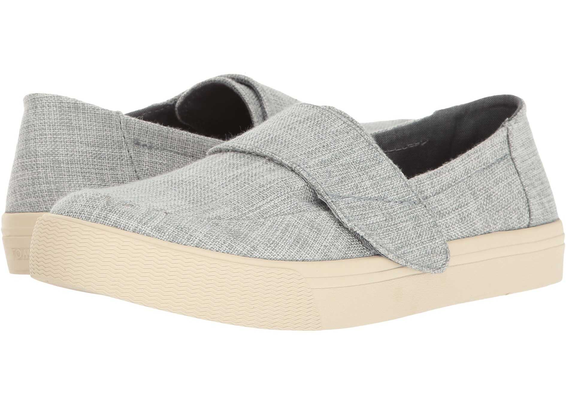 TOMS Altair Slip-On Drizzle Grey Lurex Woven