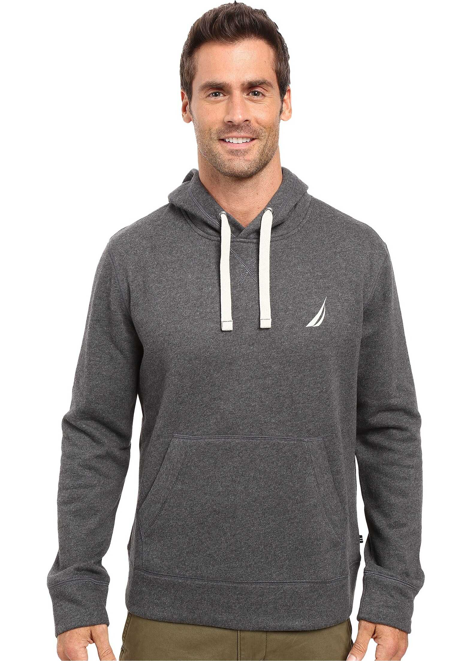 Nautica Pullover Hoodie Charcoal Heather
