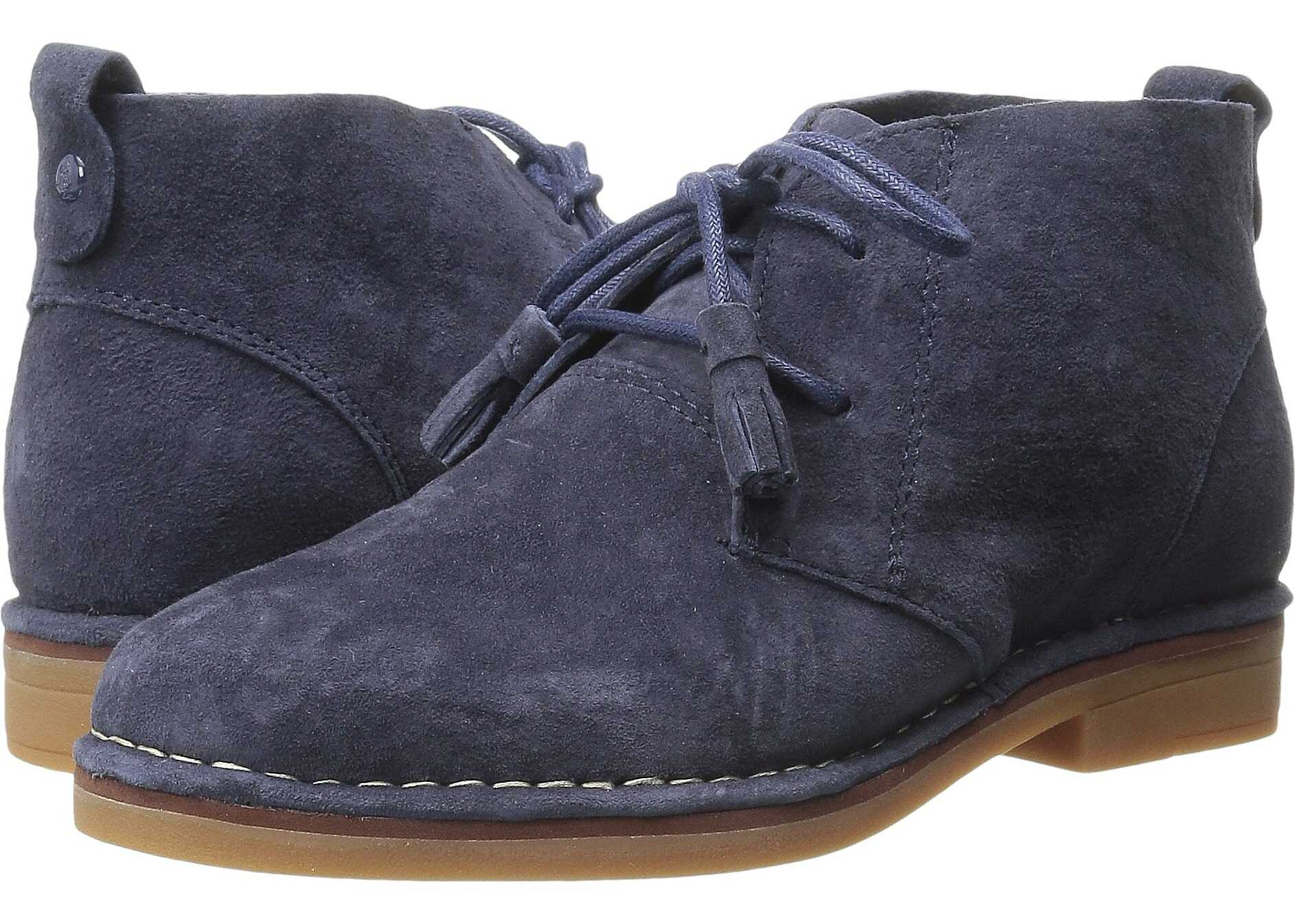 Hush Puppies Cyra Catelyn Navy Suede
