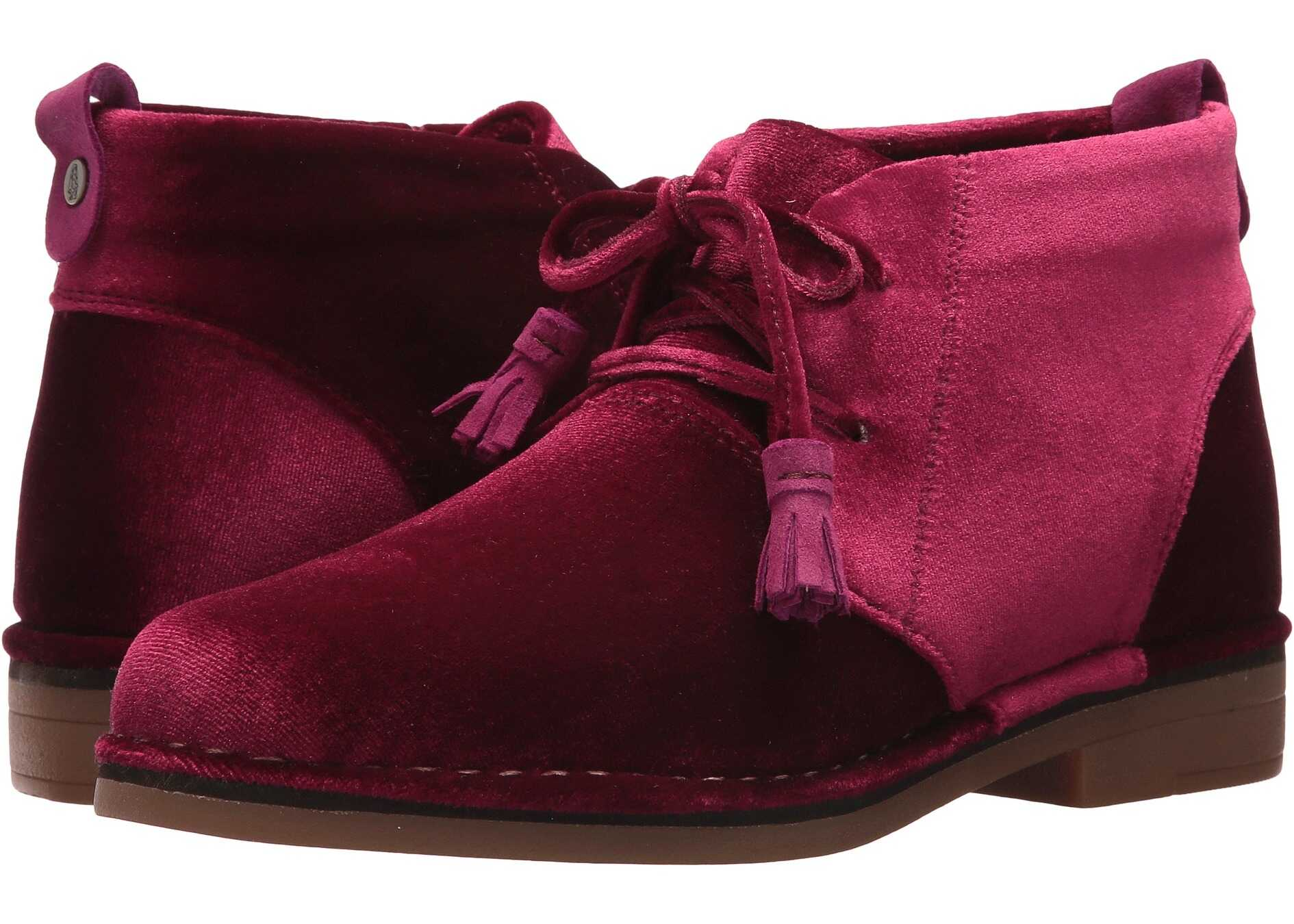 Hush Puppies Cyra Catelyn Wine Velvet
