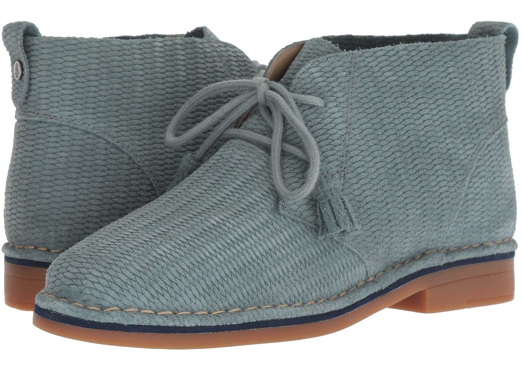 Hush Puppies Cyra Catelyn Storm Embossed Suede