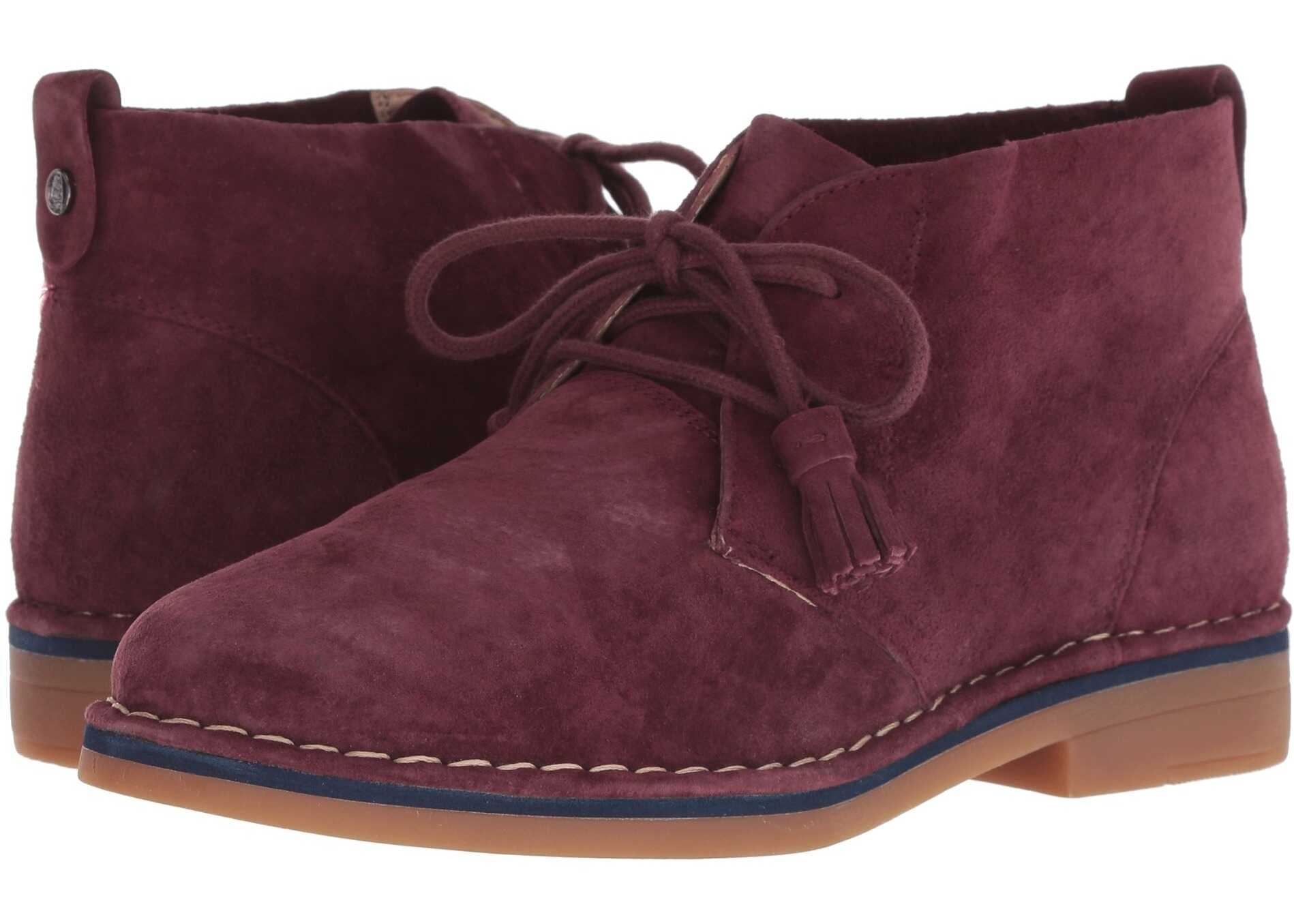 Hush Puppies Cyra Catelyn Dark Wine Suede