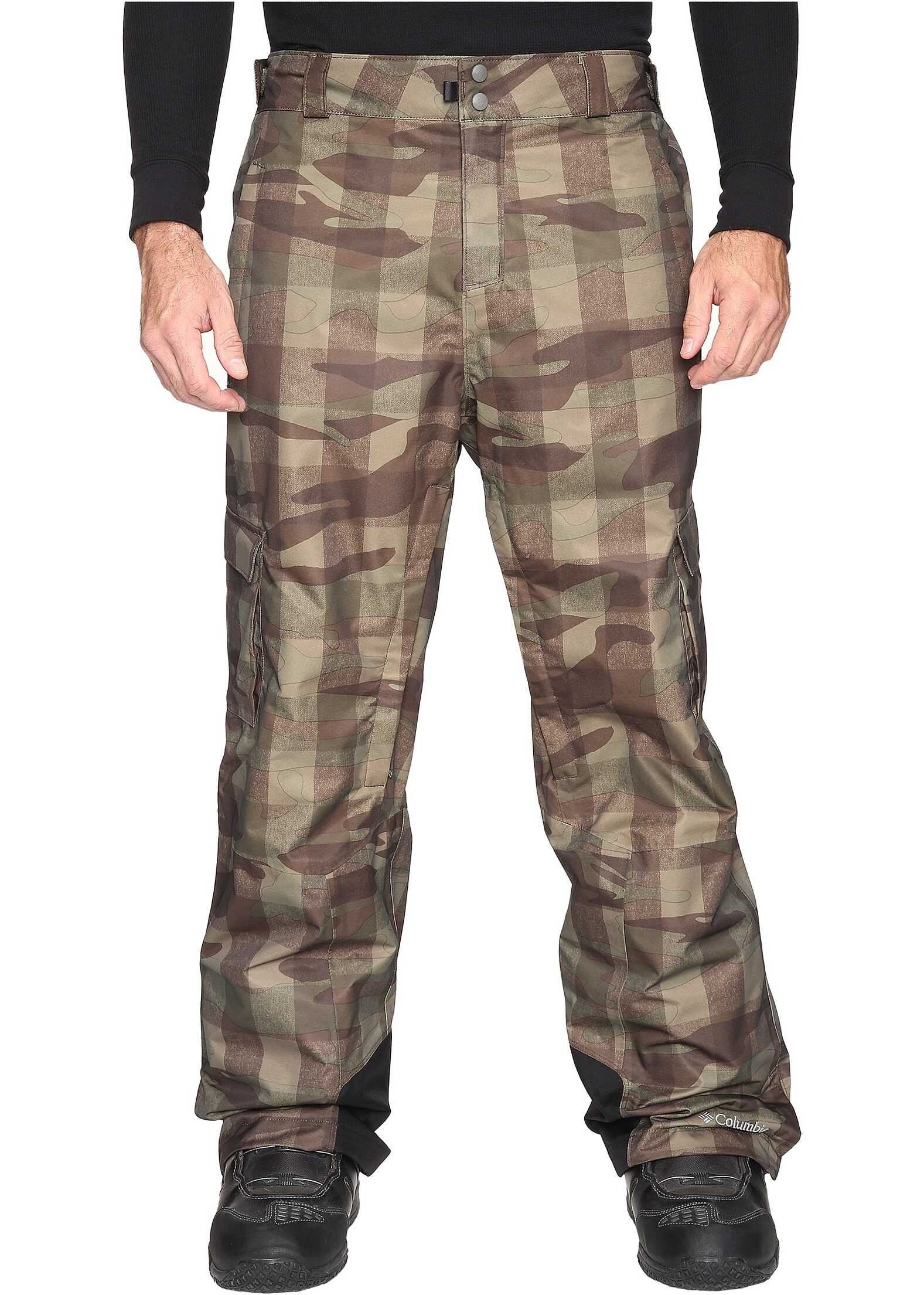 Columbia Big & Tall Ridge 2 Run™ II Pant Peatmoss Buffalo Camo