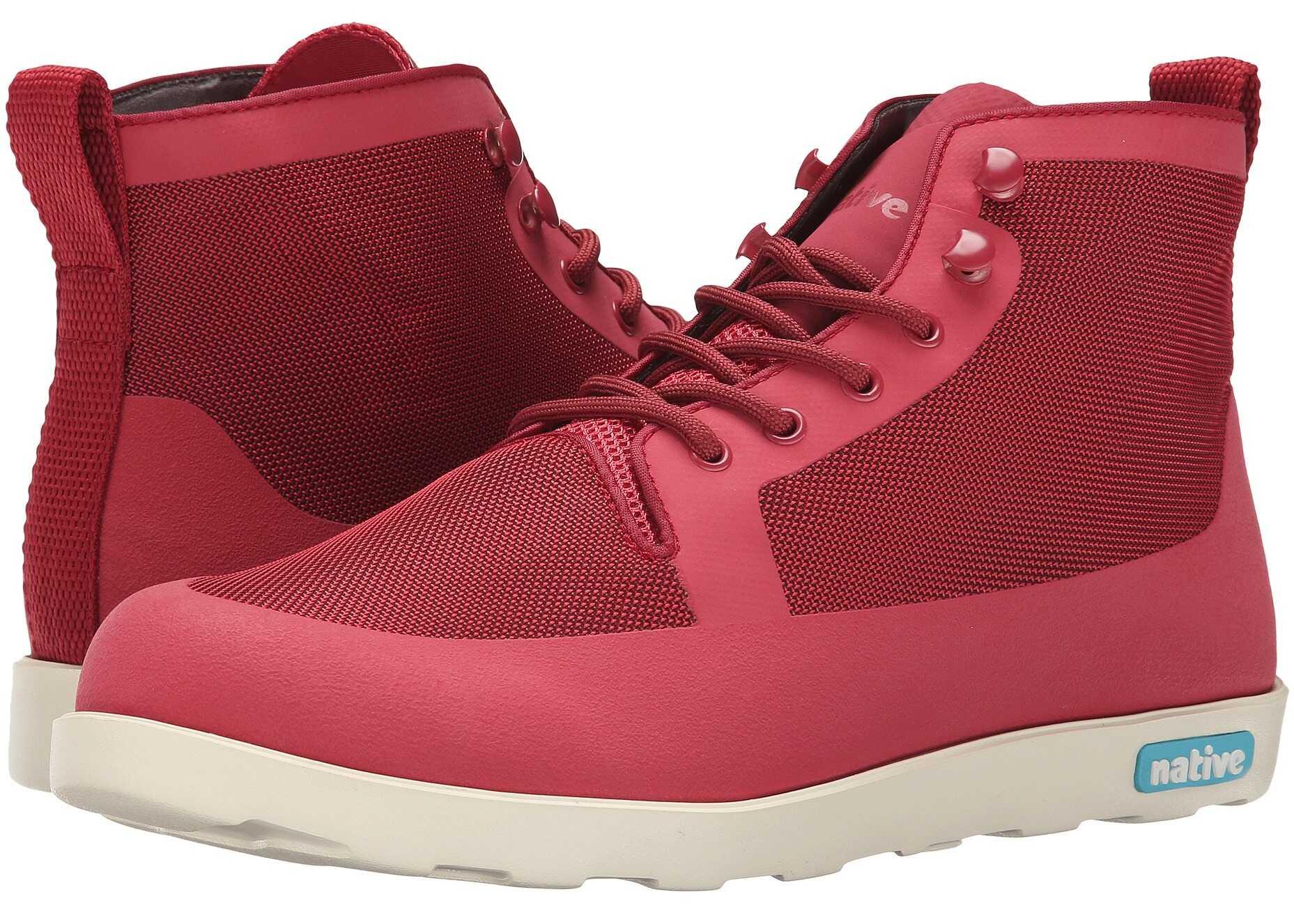 Ghete Barbati Native Shoes Fitzroy Fire Truck Red/