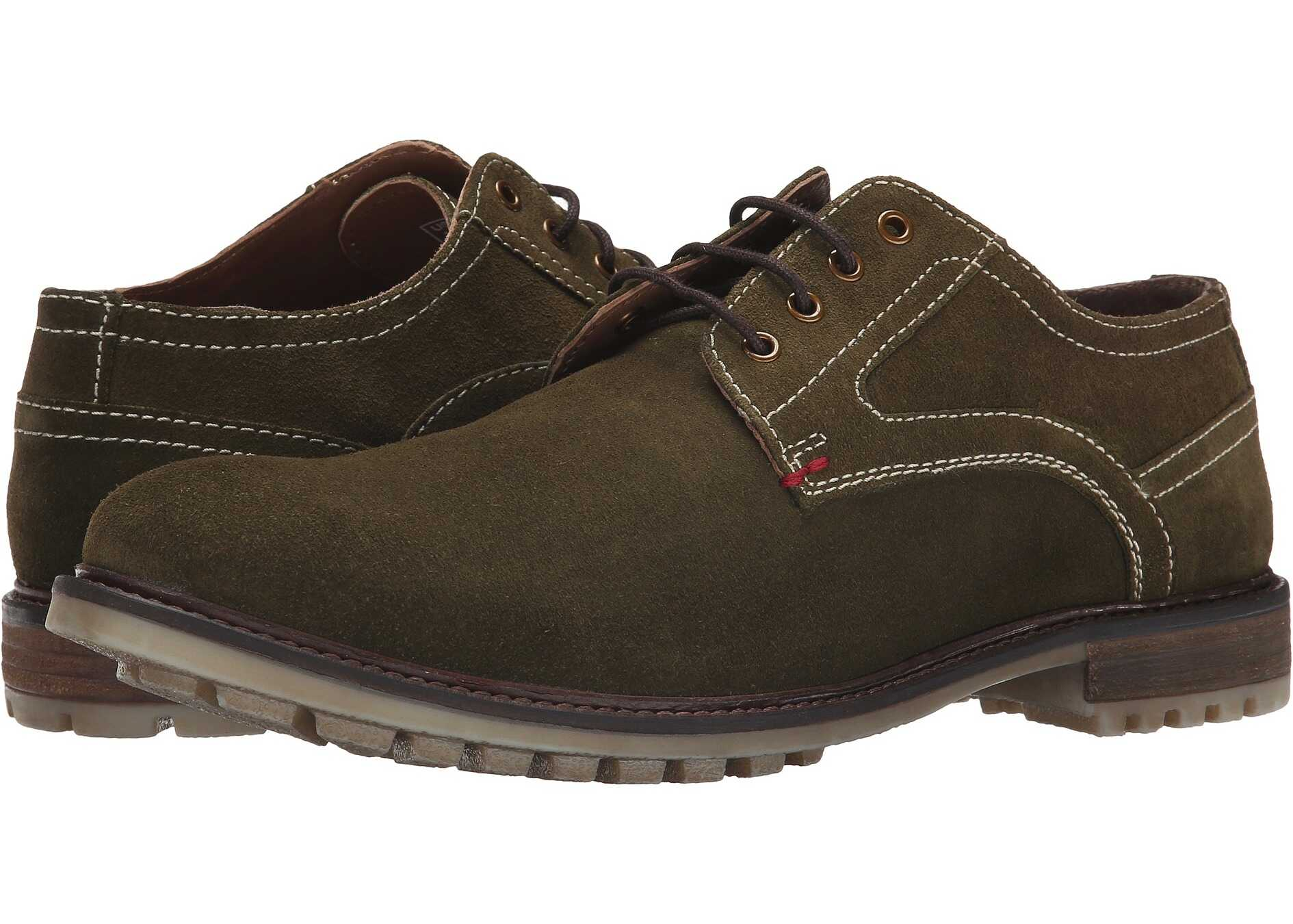 Hush Puppies Rohan Rigby Olive Suede