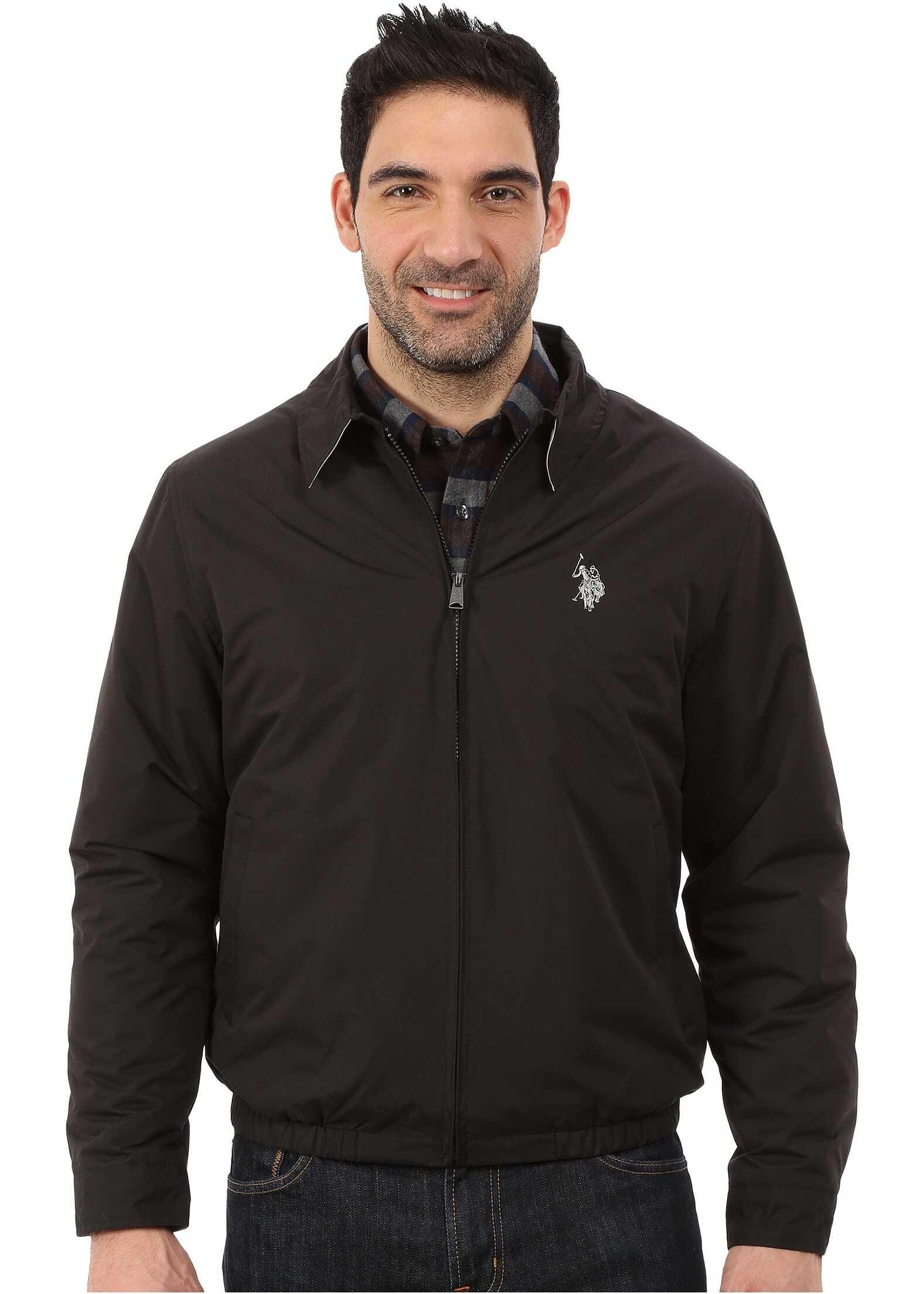 U.S. POLO ASSN. Golf Jacket Black