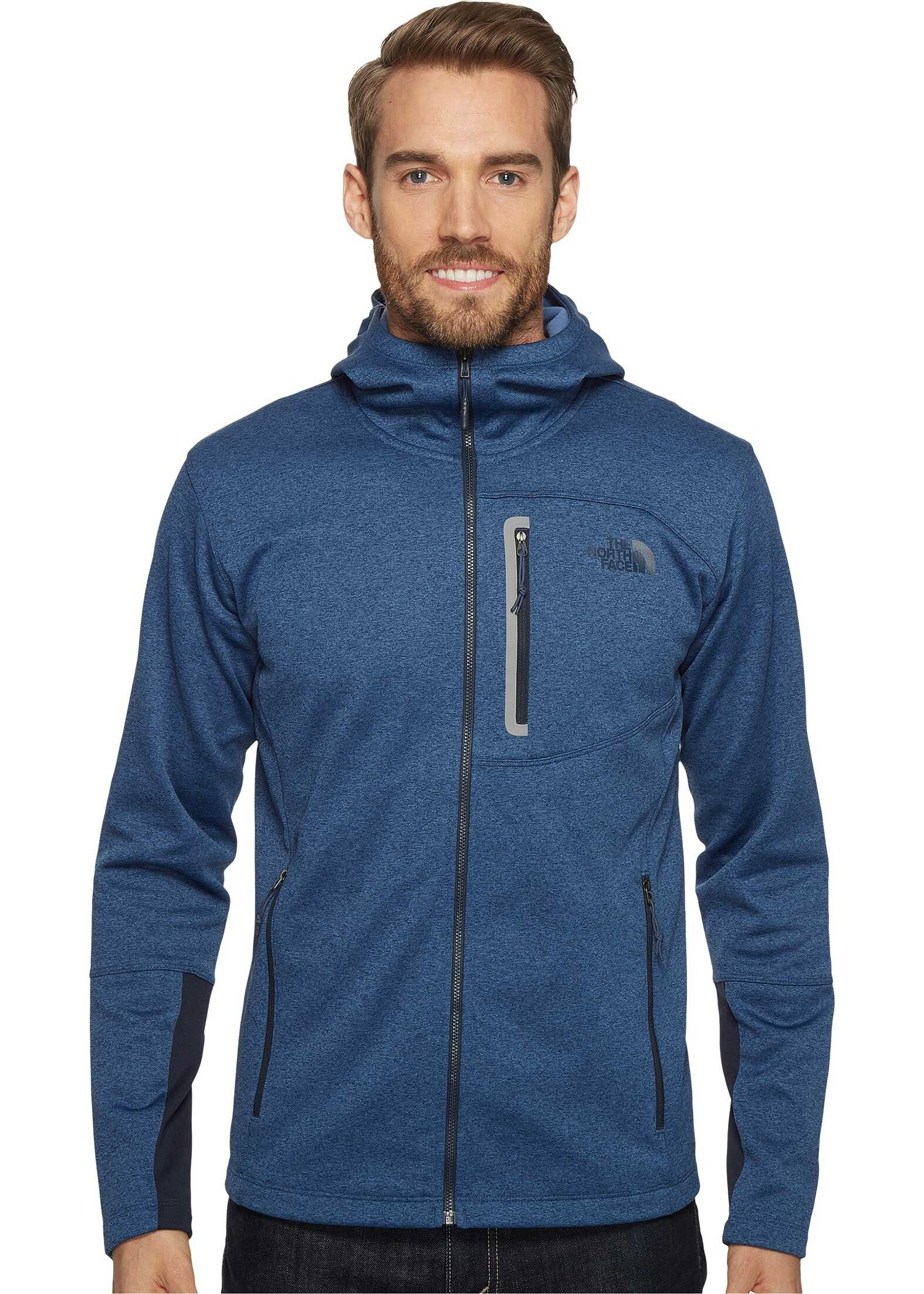 The North Face Canyonlands Hoodie Shady Blue Heather