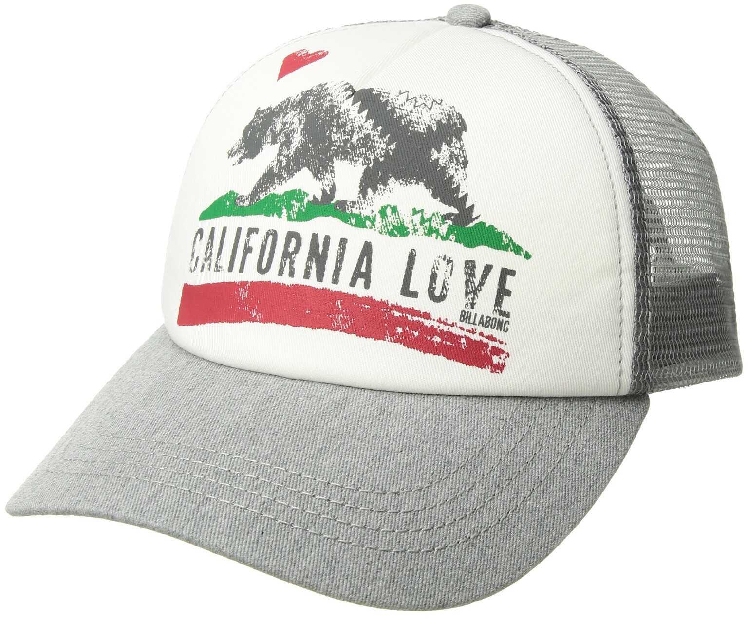 Billabong Pitstop Hat Athletic Grey