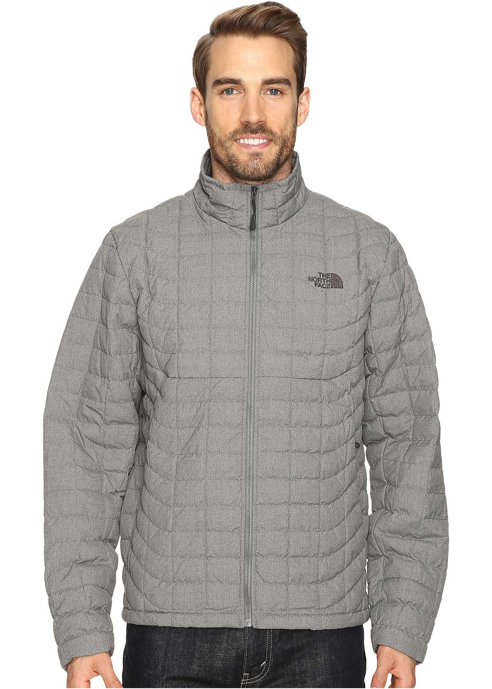 The North Face ThermoBall™ Full Zip Jacket Fusebox Grey Texture (Prior Season)
