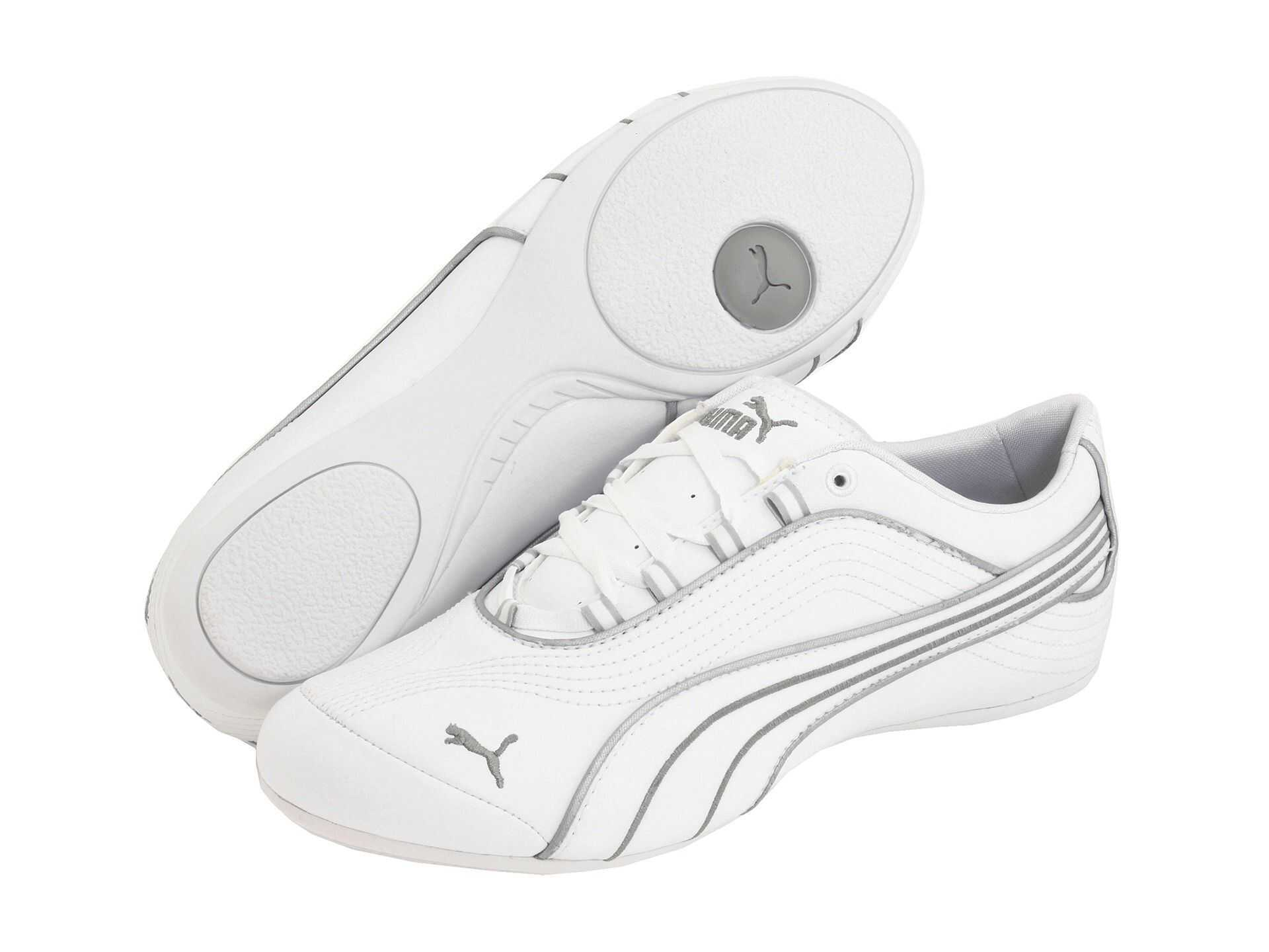 Puma Soleil Fs Wns White/puma Silver