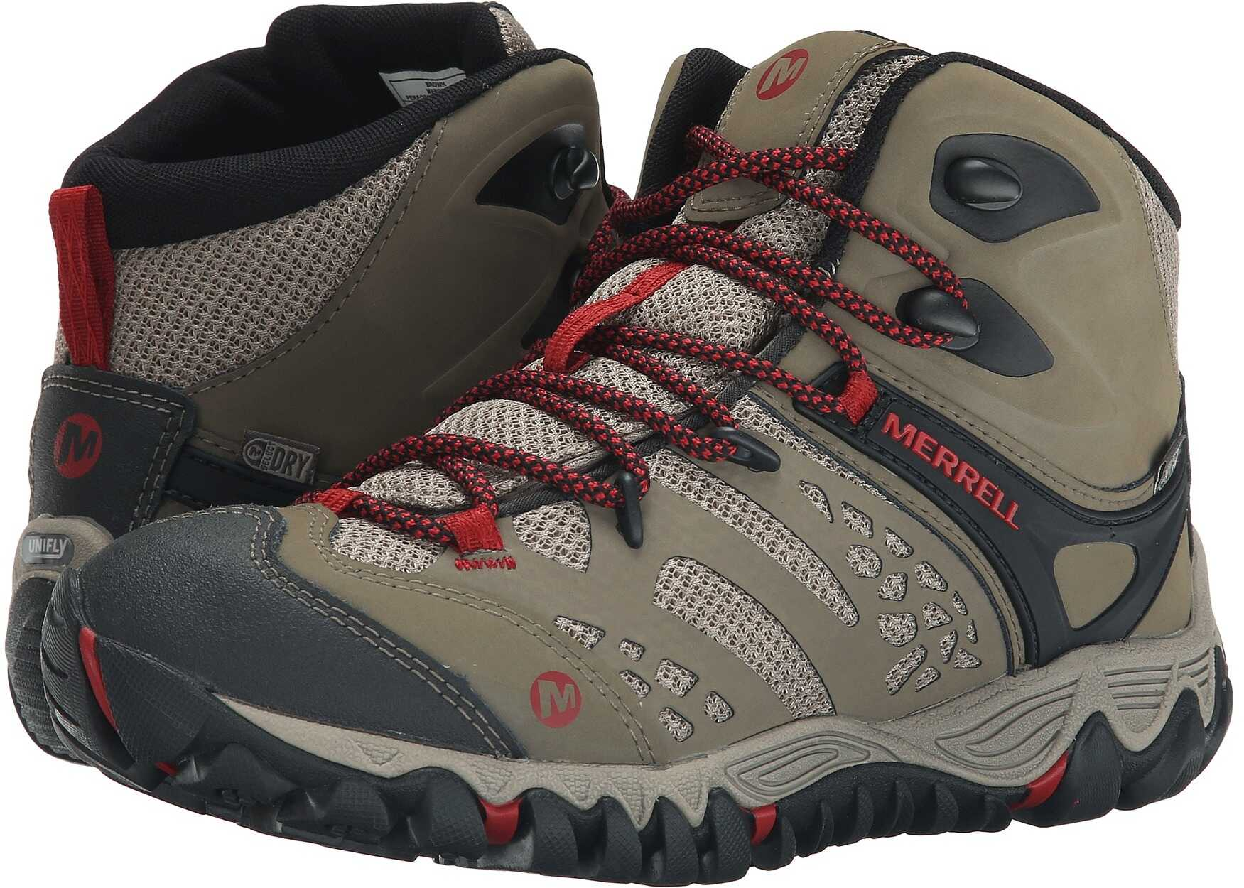 Merrell All Out Blaze Vent Mid Waterproof Brown