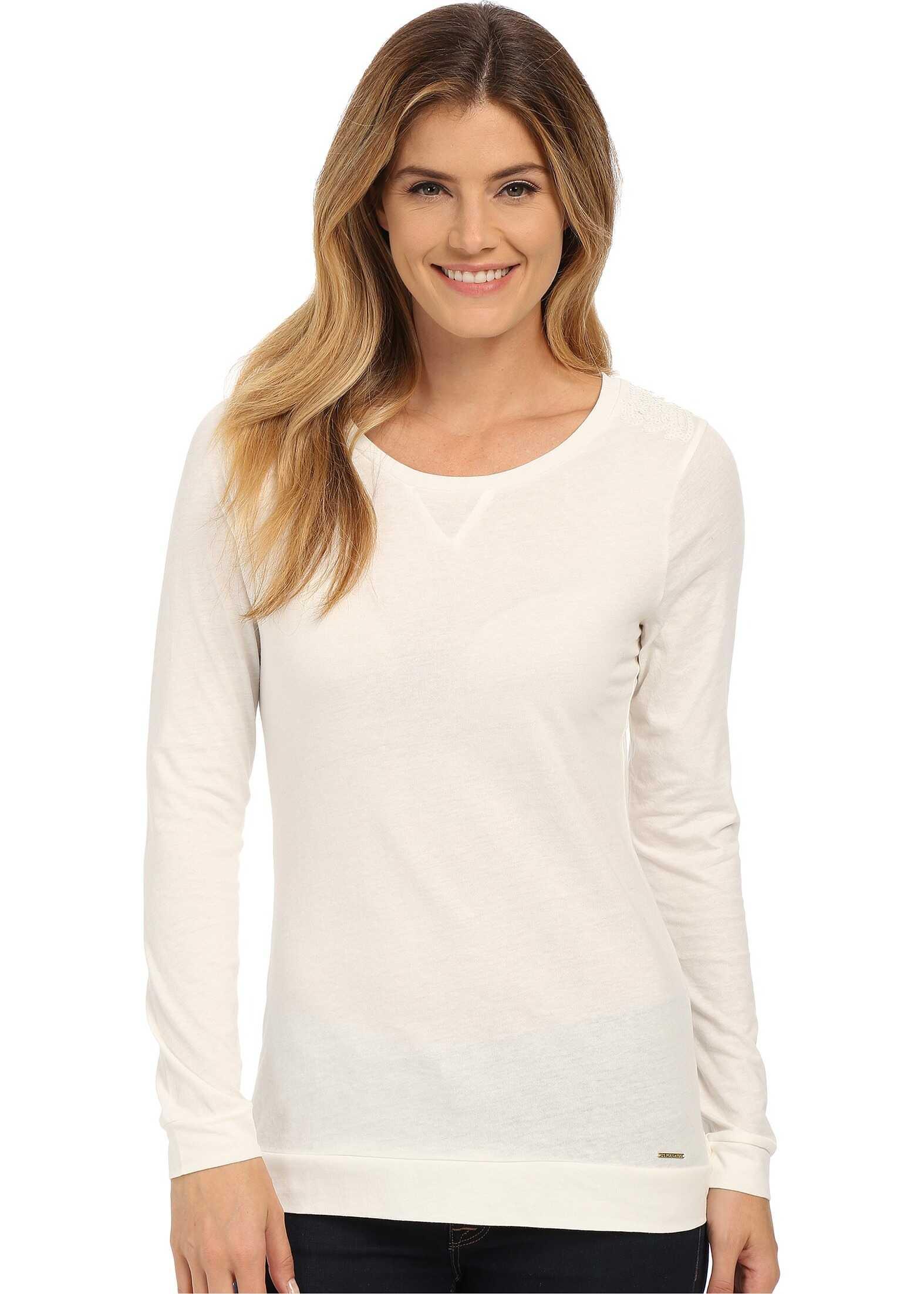 Sequin Yoke T-Shirt