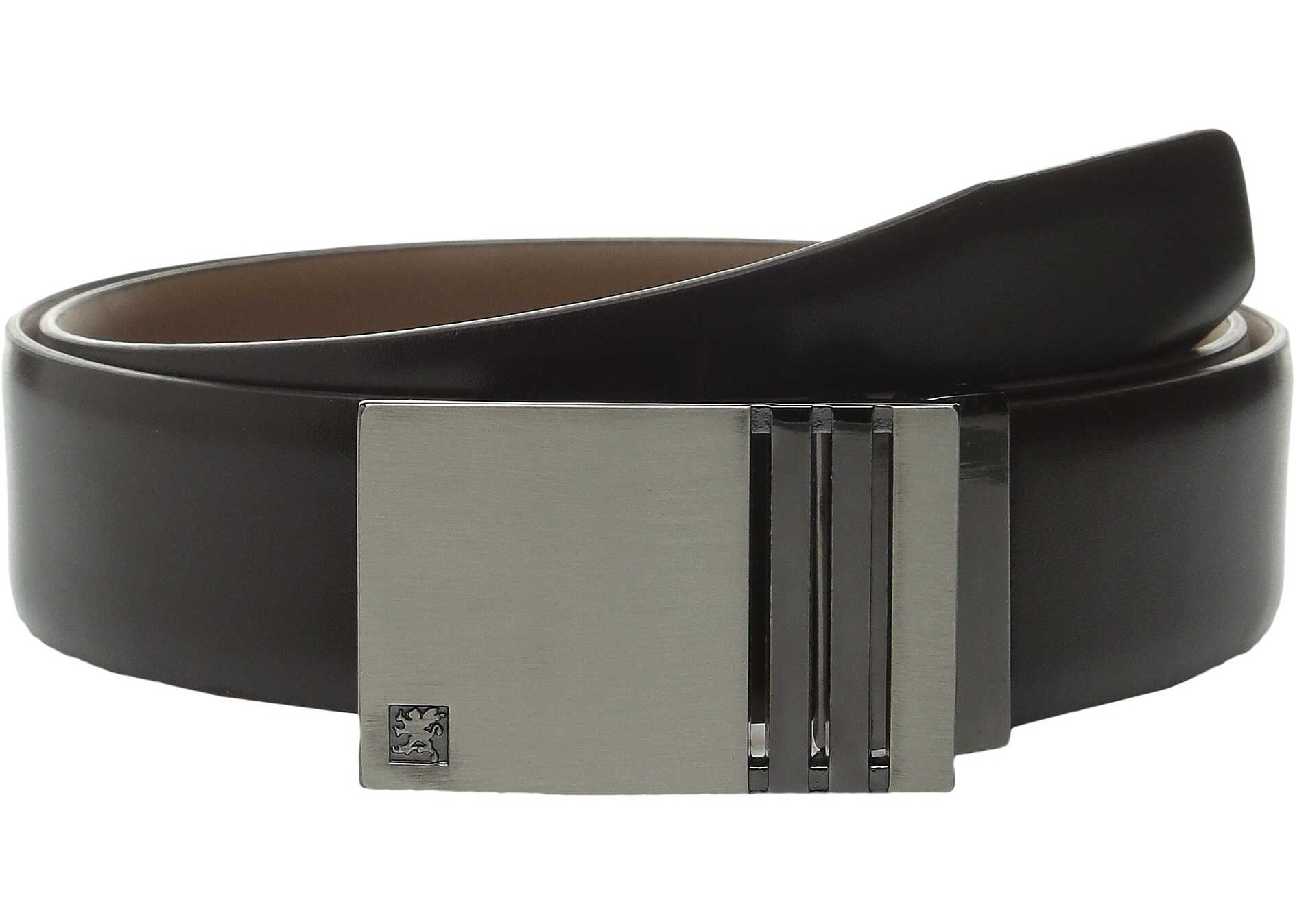 Stacy Adams Plague Buckle Belt Brown