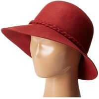 Palarii Wool Lamp Hat with Self Braided Trim* Femei