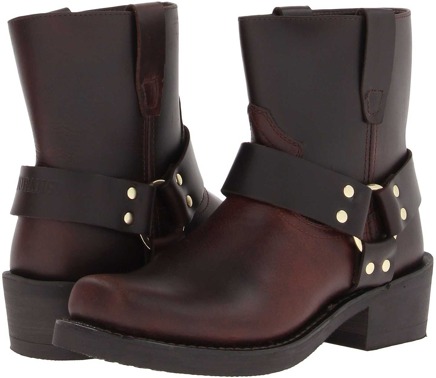 Durango Db714* Brown Frontier Pull-up Leather
