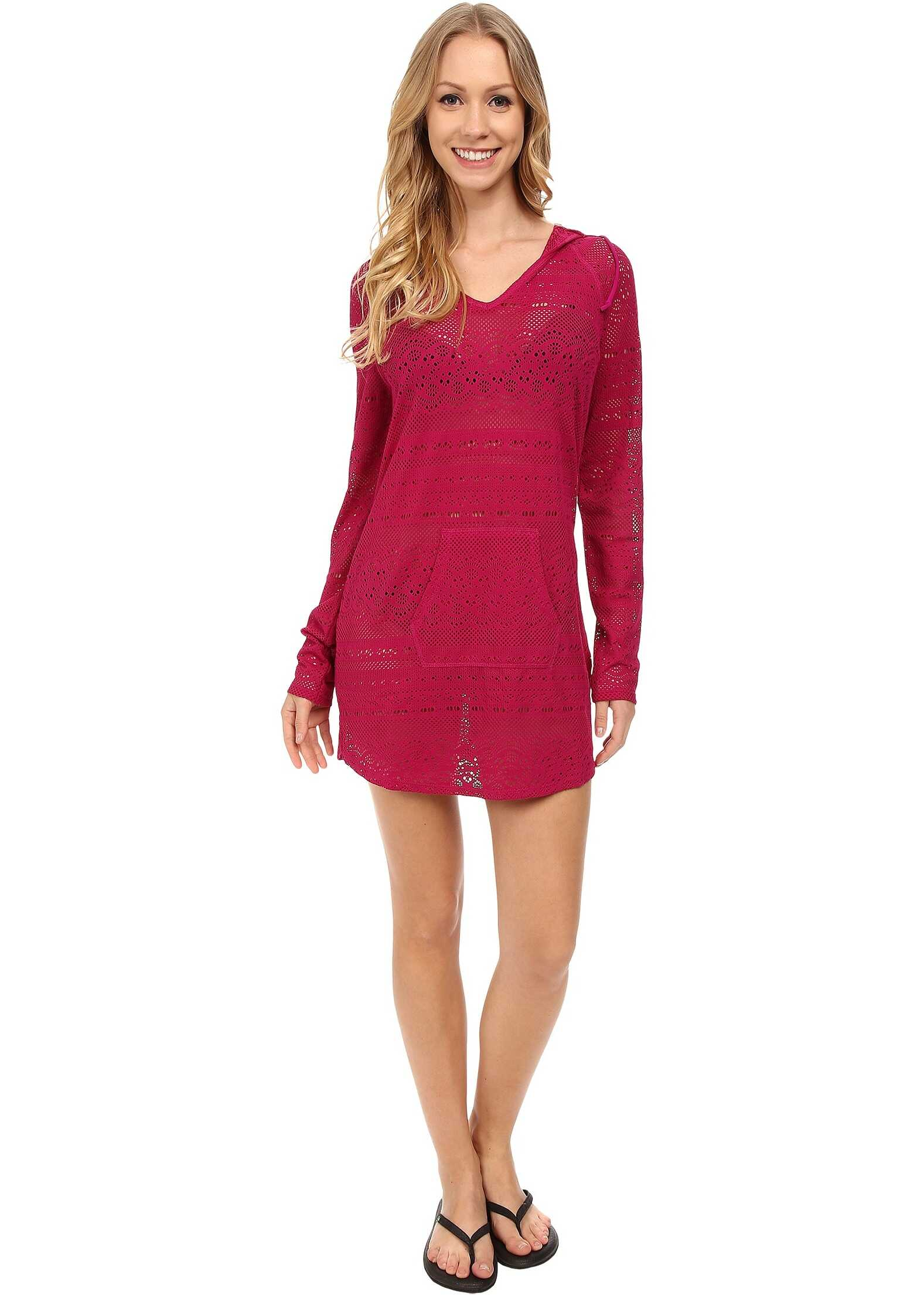 Prana Luiza Tunic Cover Up Rich Fuchsia