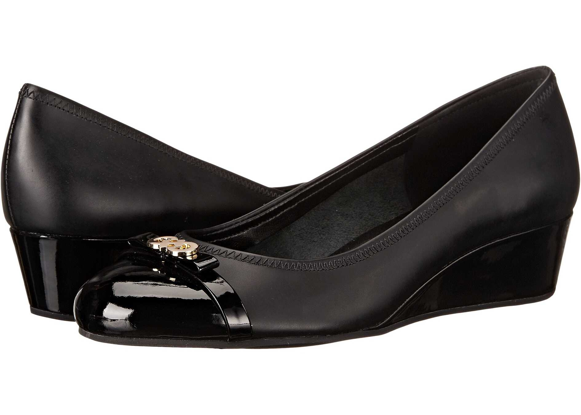 Cole Haan Elsie Logo Wedge II Black/Patent