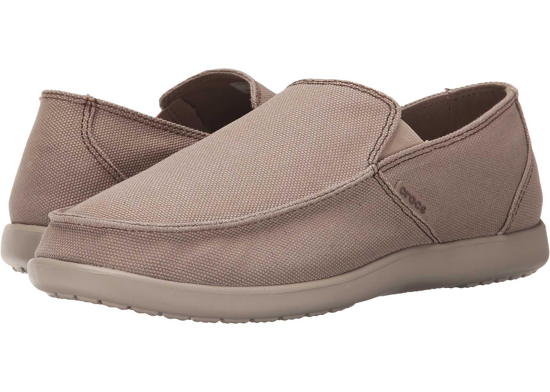 Crocs Santa Cruz Clean Cut Loafer Khaki/Cobblestone