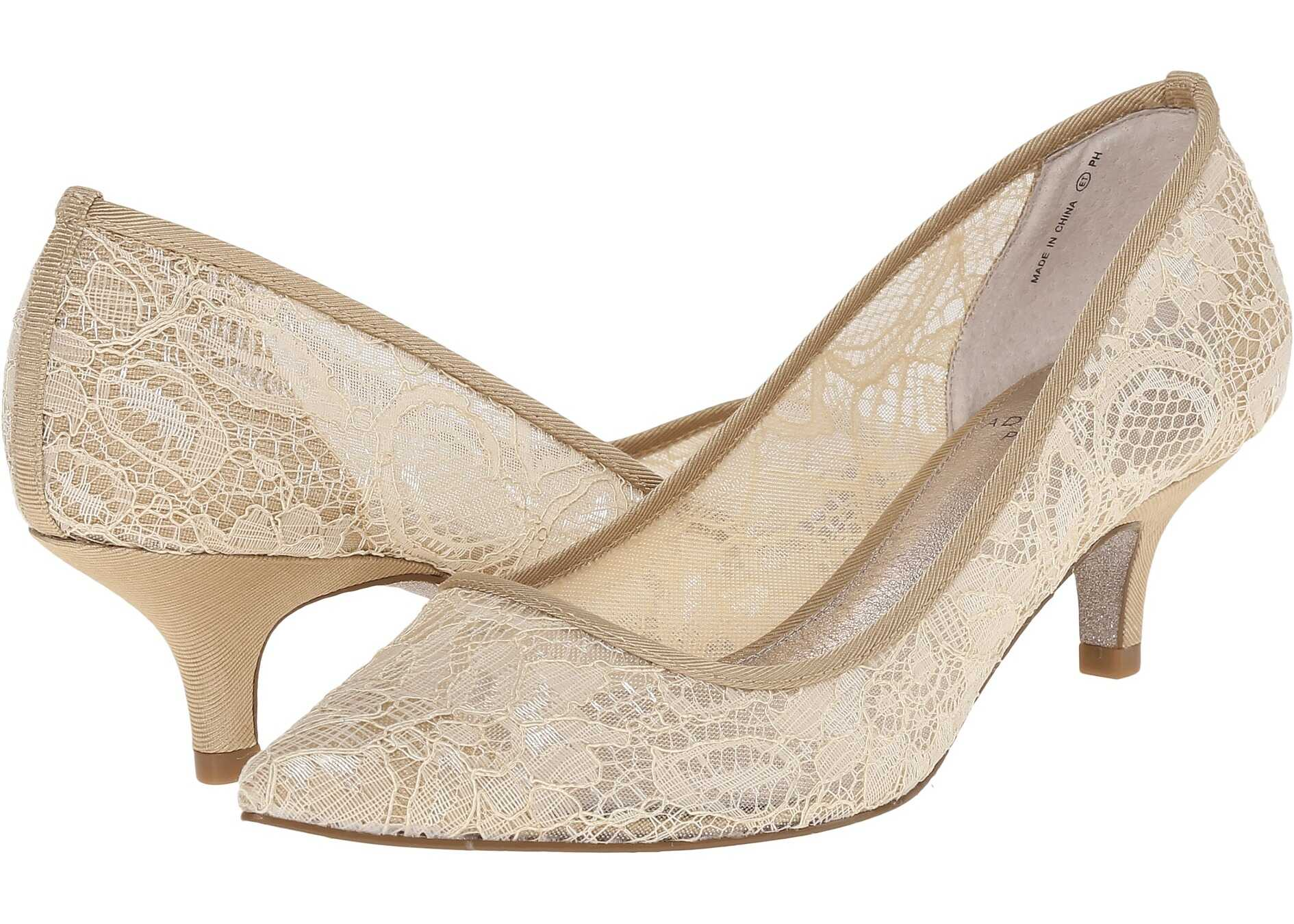 Adrianna Papell Lois Lace Latte 1890 Lace