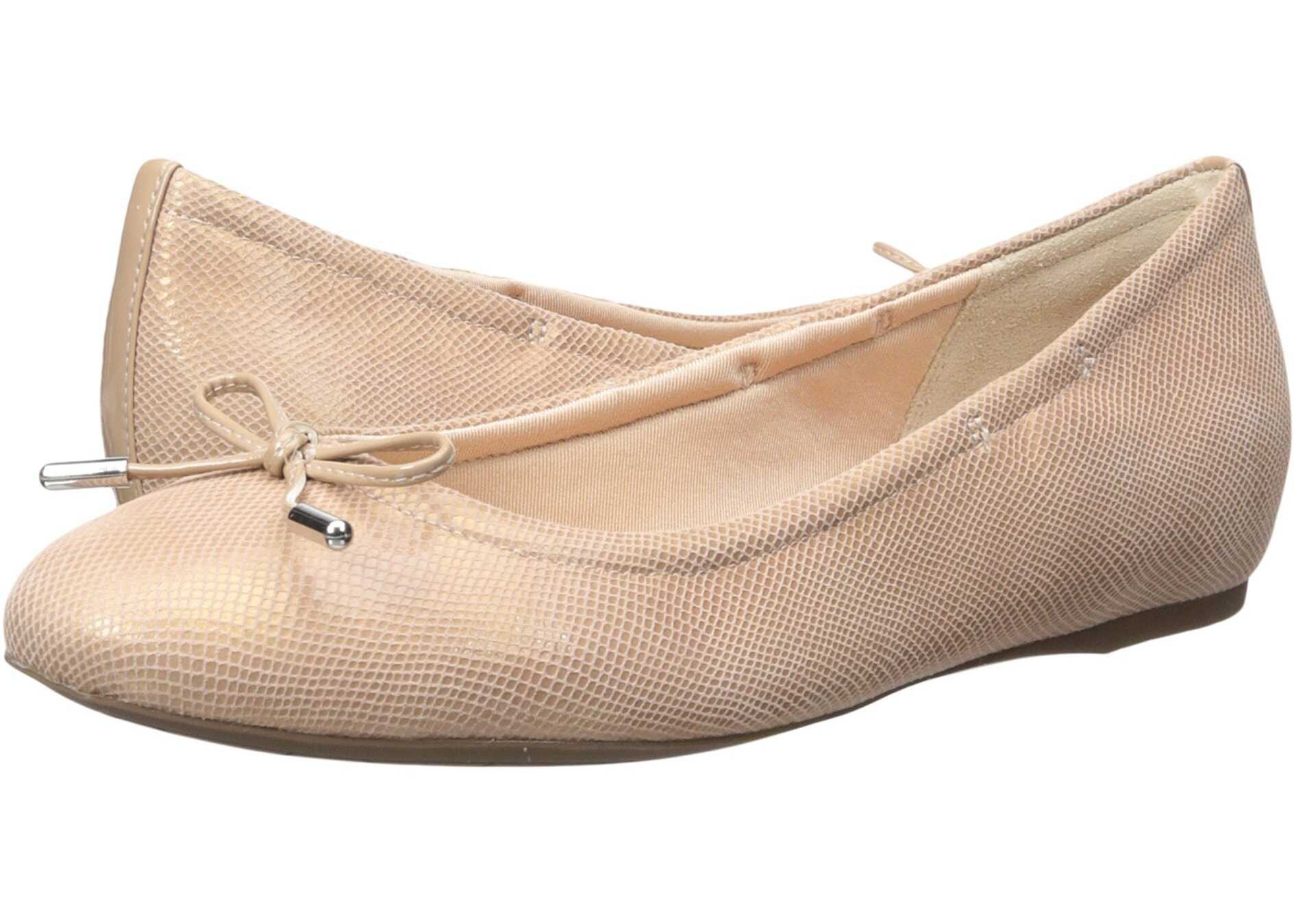 Rockport Total Motion Hidden Wedge Tied Ballet Pink Snake
