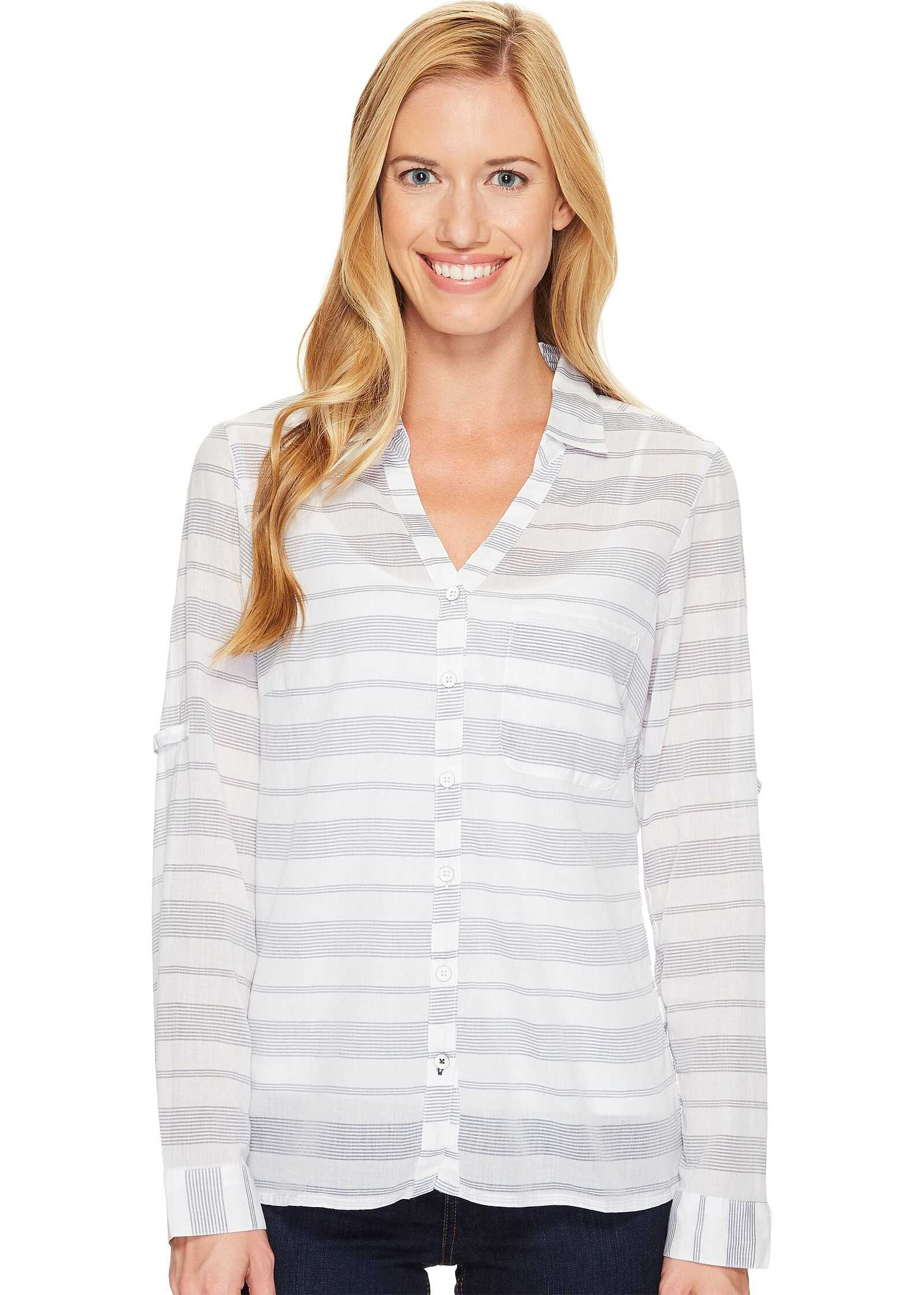 Columbia Early Tide™ Long Sleeve Shirt Nocturnal Stripe
