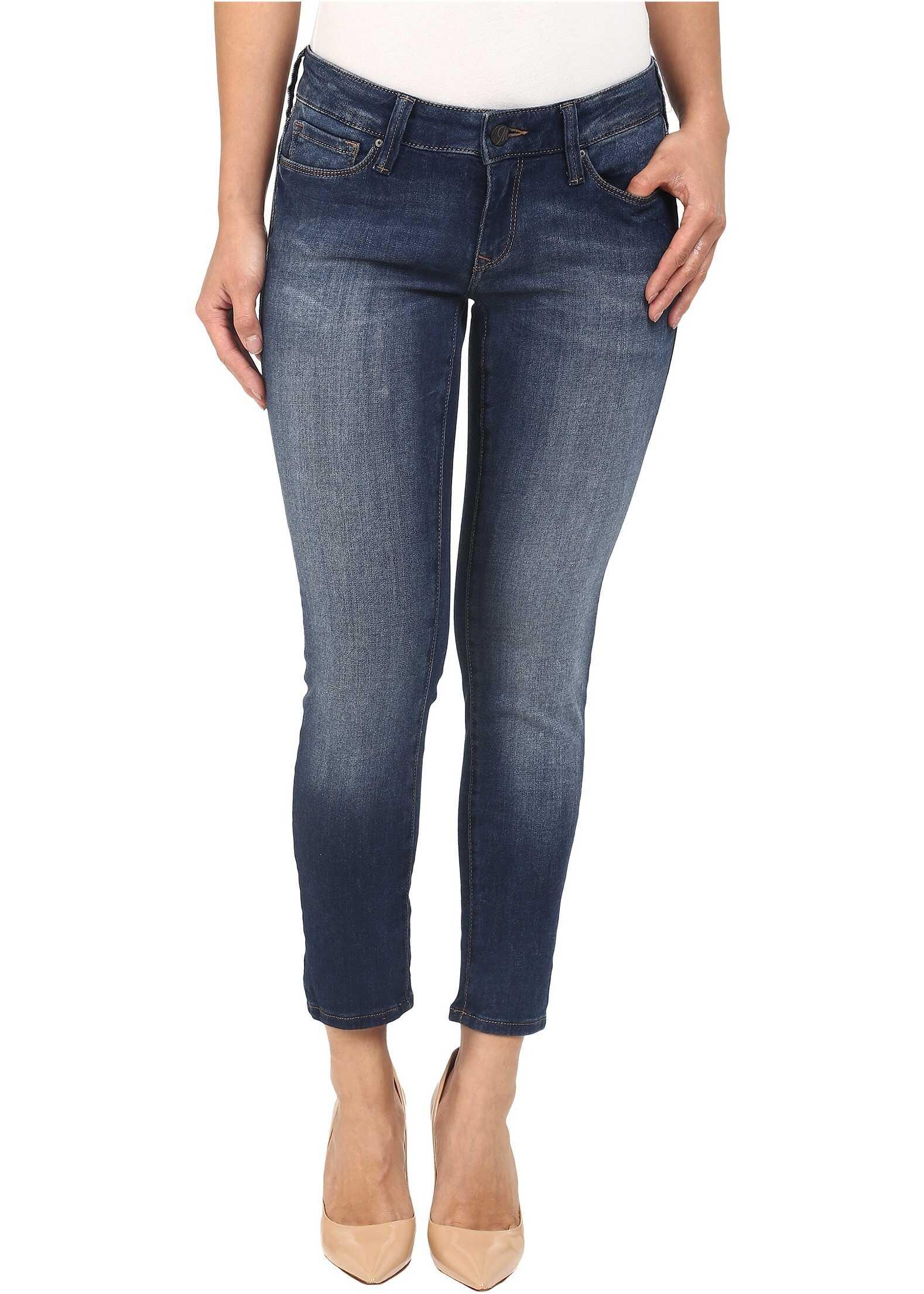 Blugi Femei Mavi Jeans Serena Petite In Used Soft