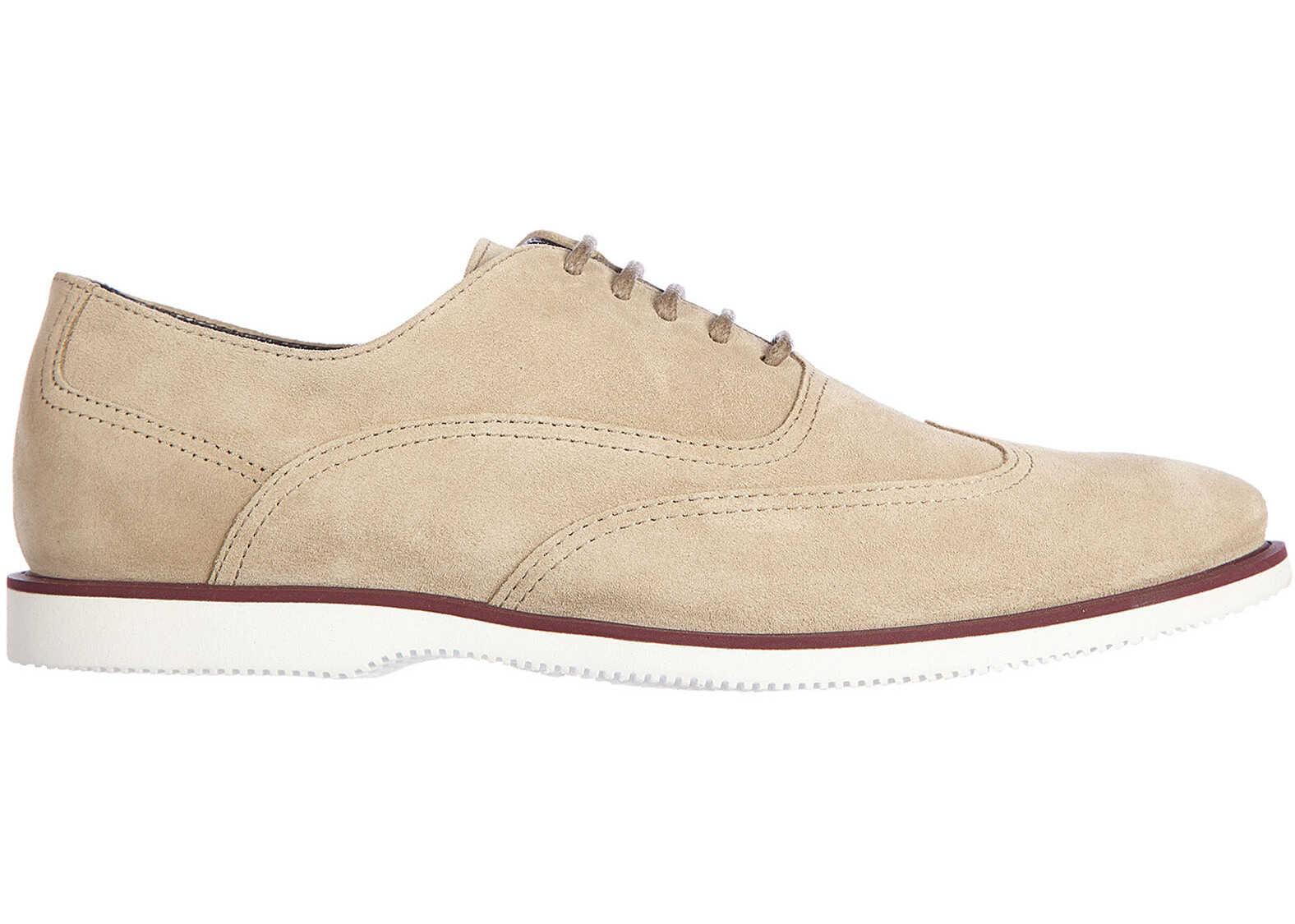 Pantofi Barbati Hogan Suede Oxford H 262 Francesin