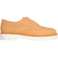 Pantofi Oxford Leather H259 Brogue Femei