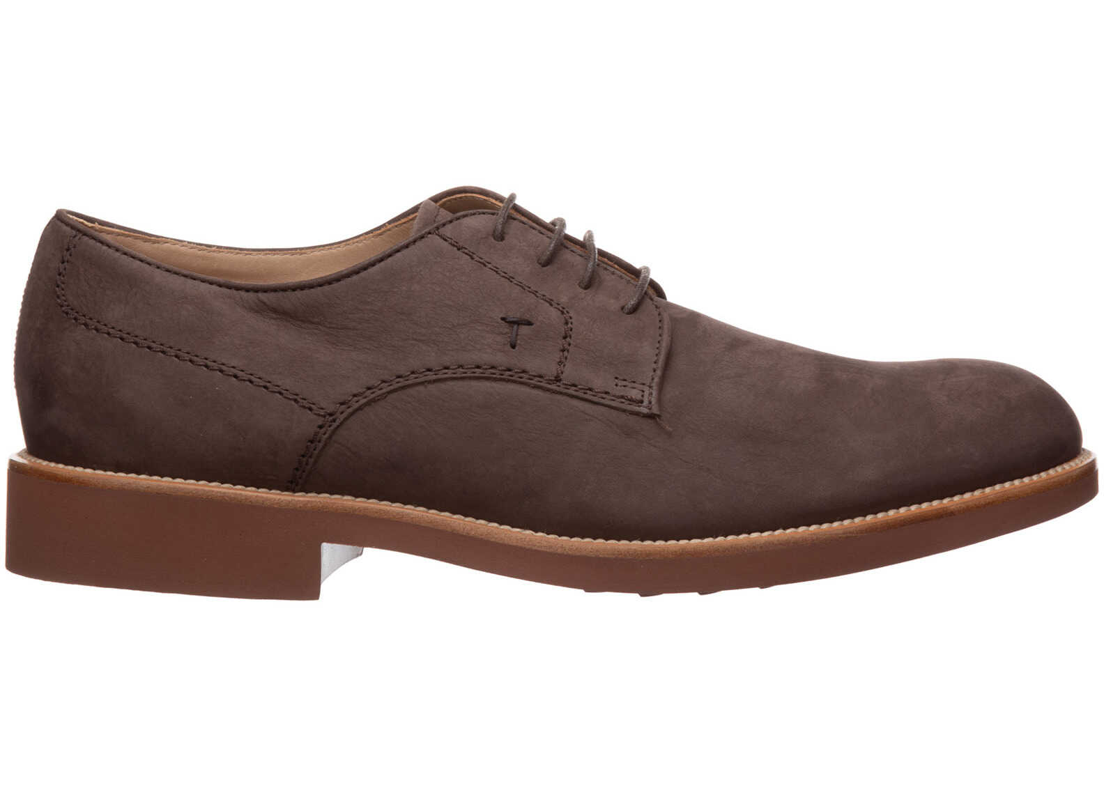 TOD'S Shoes Derby XXM0OX00C22VEKS808 Brown imagine b-mall.ro