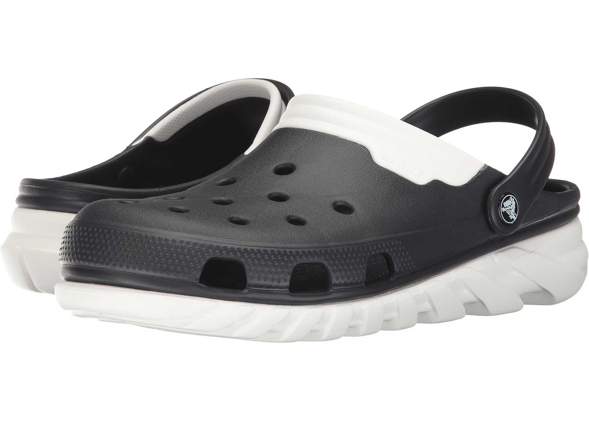 Crocs Duet Max Clog Black/White