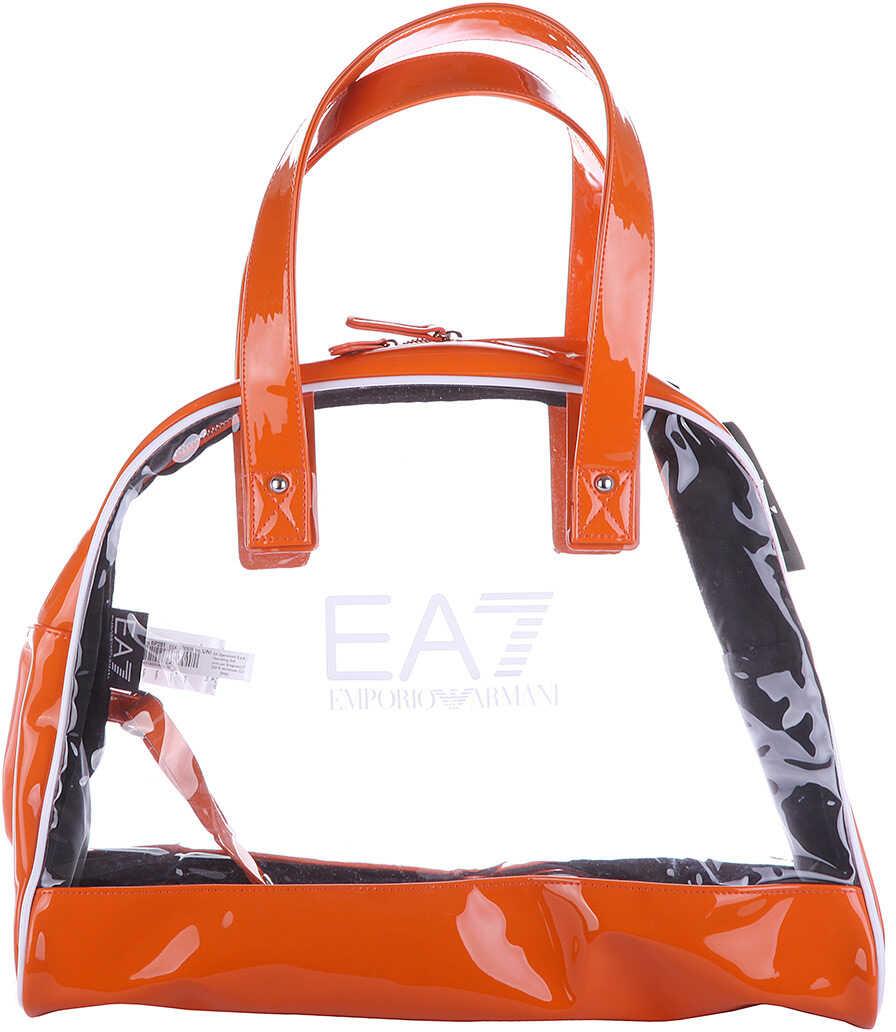 EA7 Shoulder Bag Stand Alone Orange