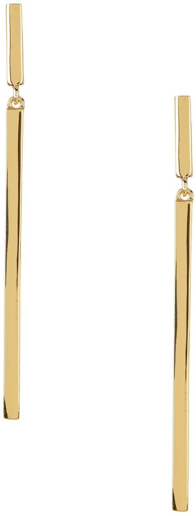 Trina Turk Linear Earrings GOLD PL-MD GOLD