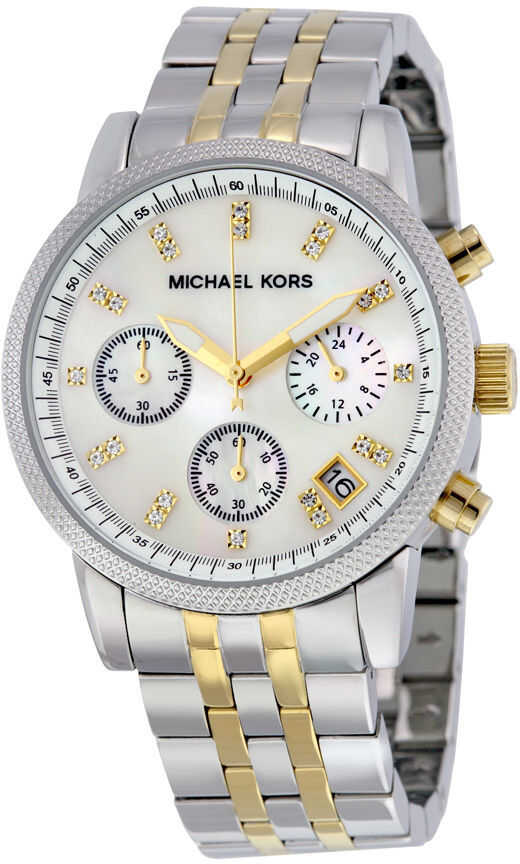 Michael Kors Ladies Two-tone Bracelet Watch MK5057 N/A