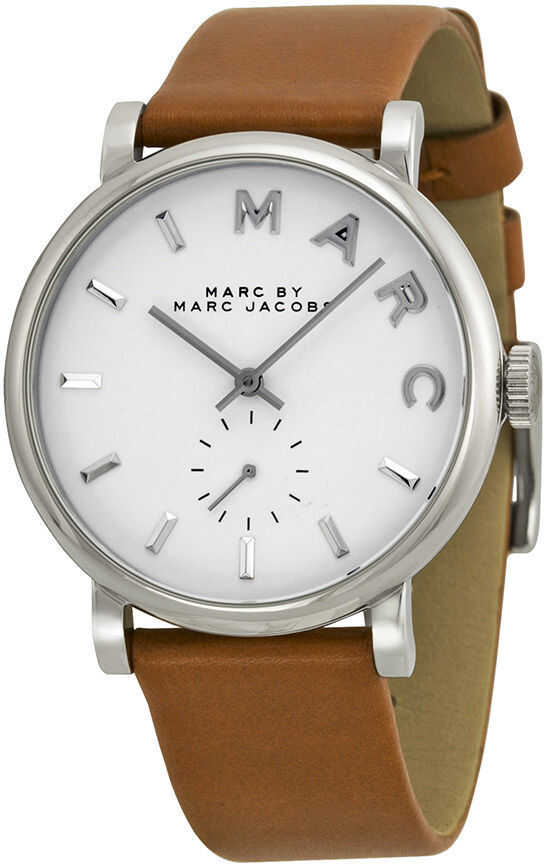 Marc Jacobs Marc by Marc Jacobs Baker Leather Ladies Watch MBM1265 N/A