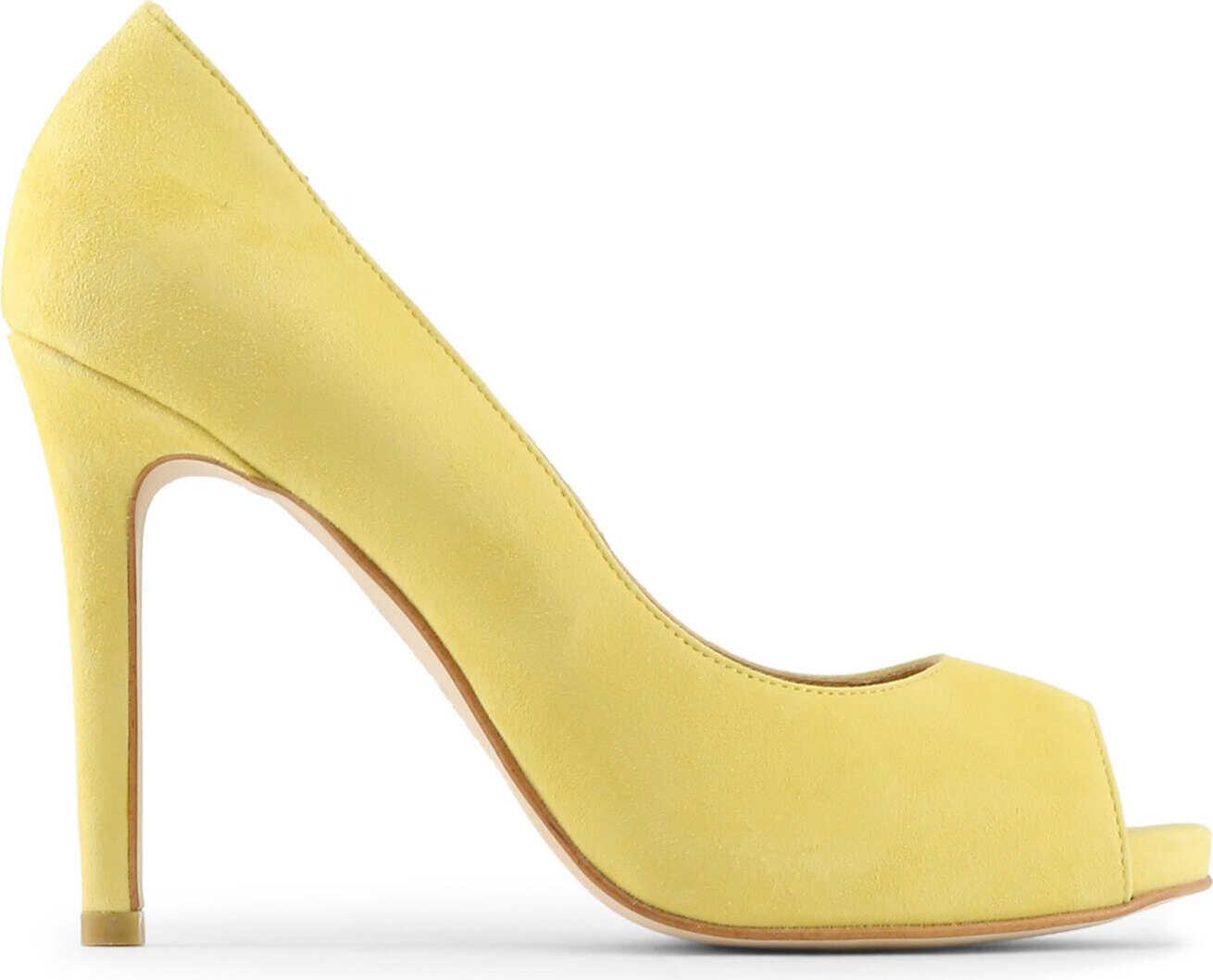 Pantofi Cu Toc Made In Italia Erminia Yellow