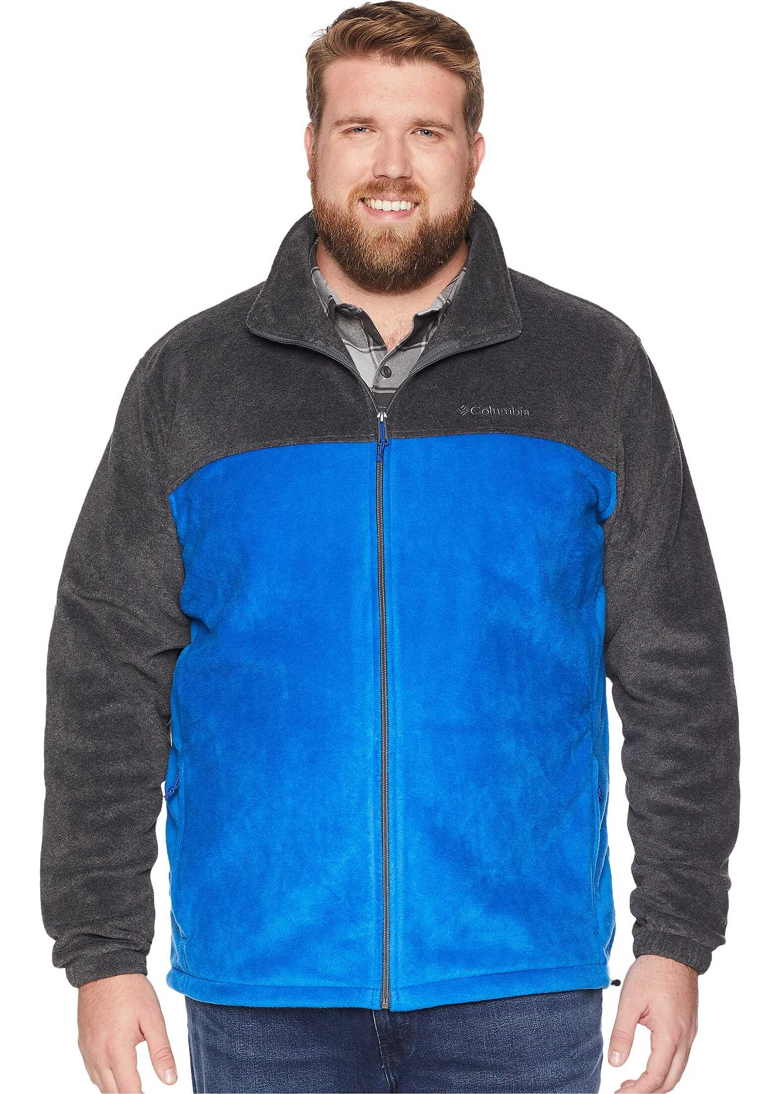 Columbia Big & Tall Steens Mountain™ Full Zip 2.0 Jacket Azul/Charcoal Heather