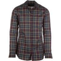 Camasi Long Sleeve Dress Shirt Squared Slim Barbati