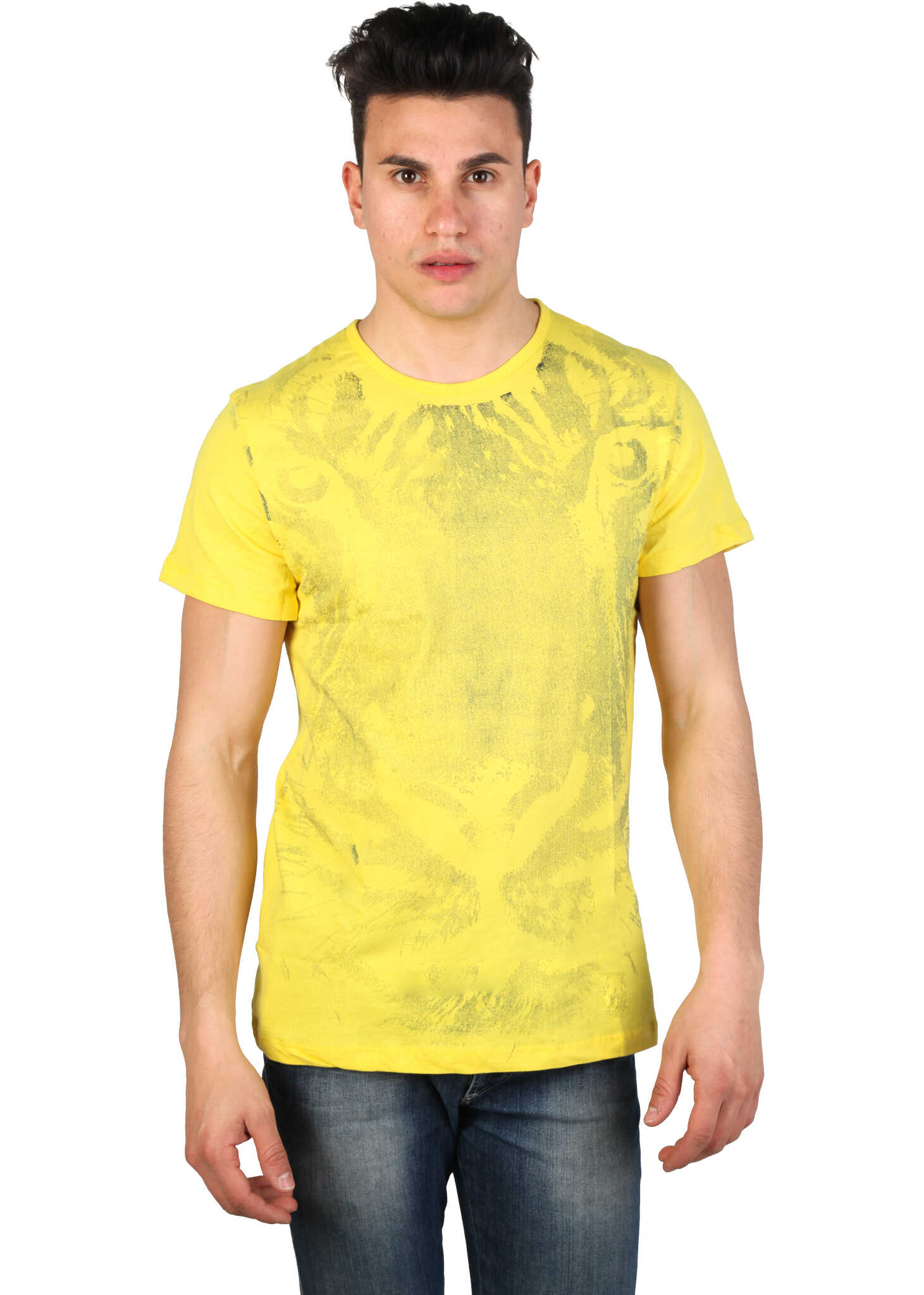 Tricou Barbati Just Cavalli 15grmca44 Yellow