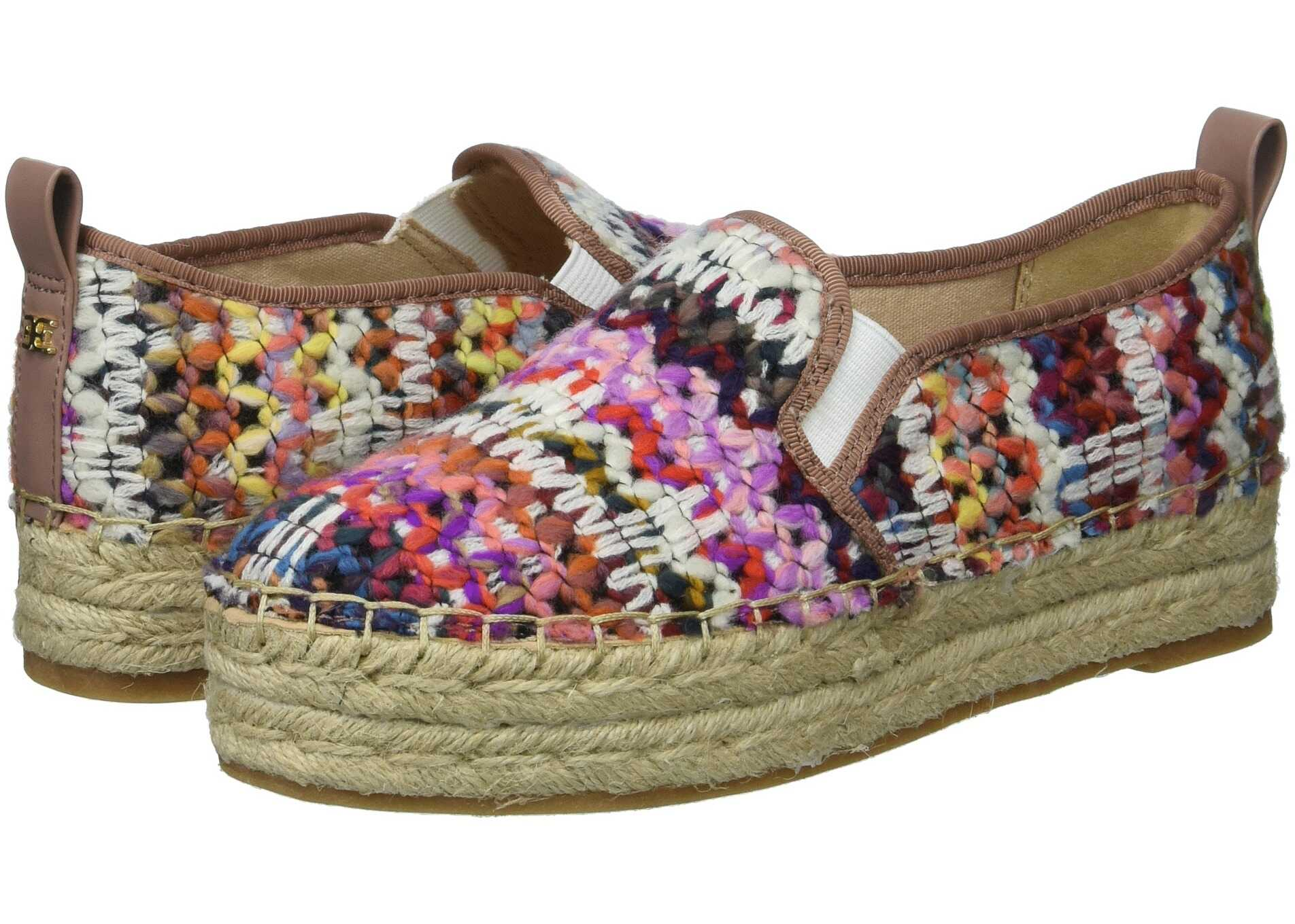 Sam Edelman Carrin Bright Multi Chevron Yarn Weave