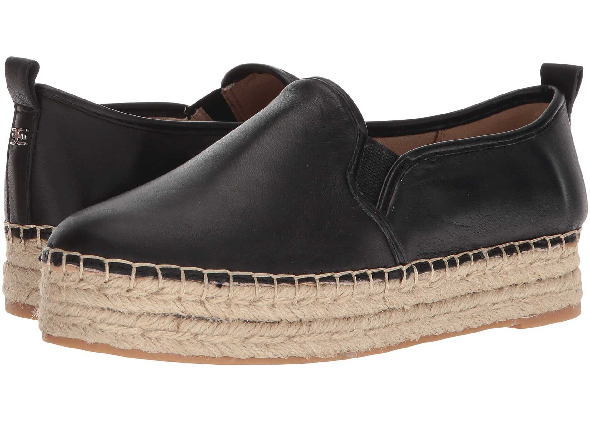Sam Edelman Carrin Black Modena Calf Leather