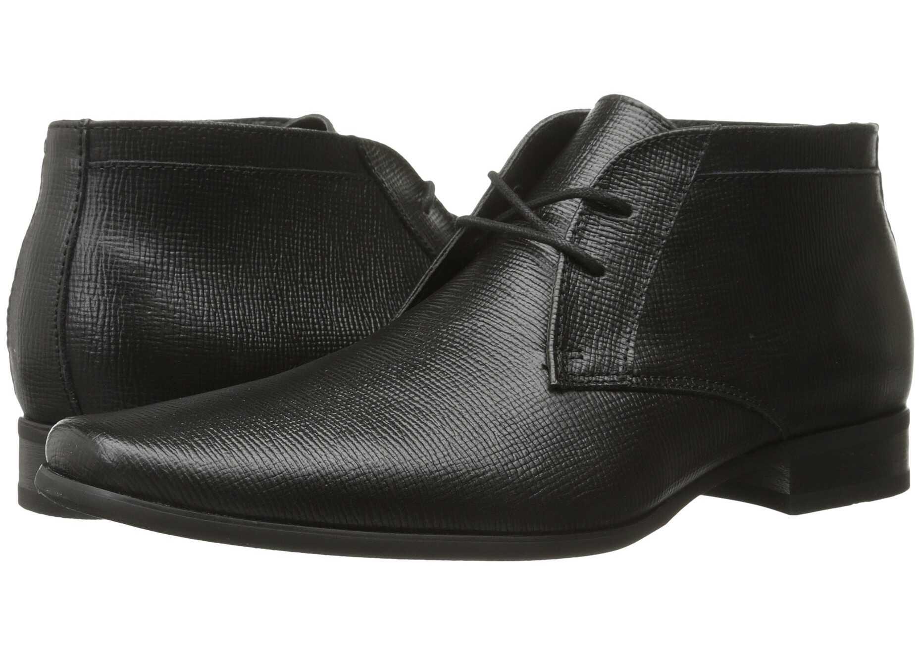 Calvin Klein Ballard Black Epi Leather