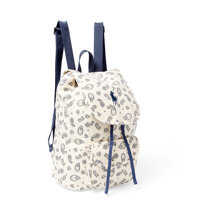Genti de Mana Paisley Canvas Backpack Fete